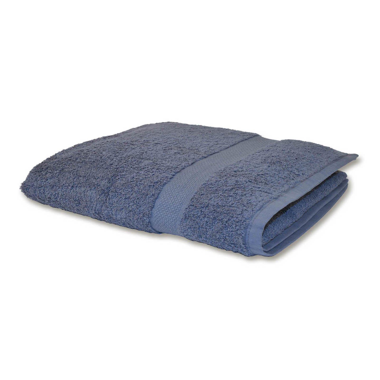 Handtuch PREMIUM - Baumwolle - grau - 50x100 cm