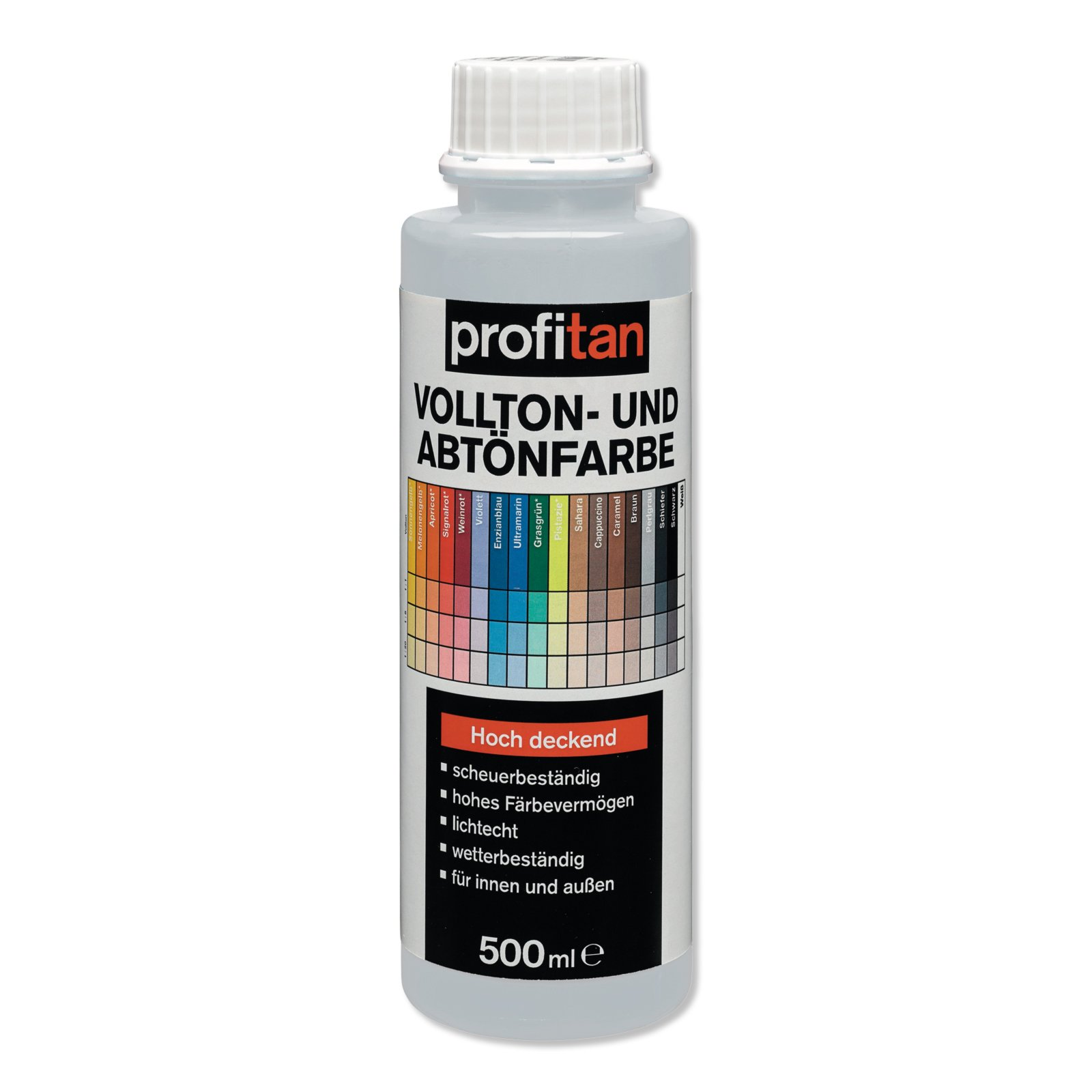profitan Vollton- und Abtönfarbe - perlgrau - 500 ml