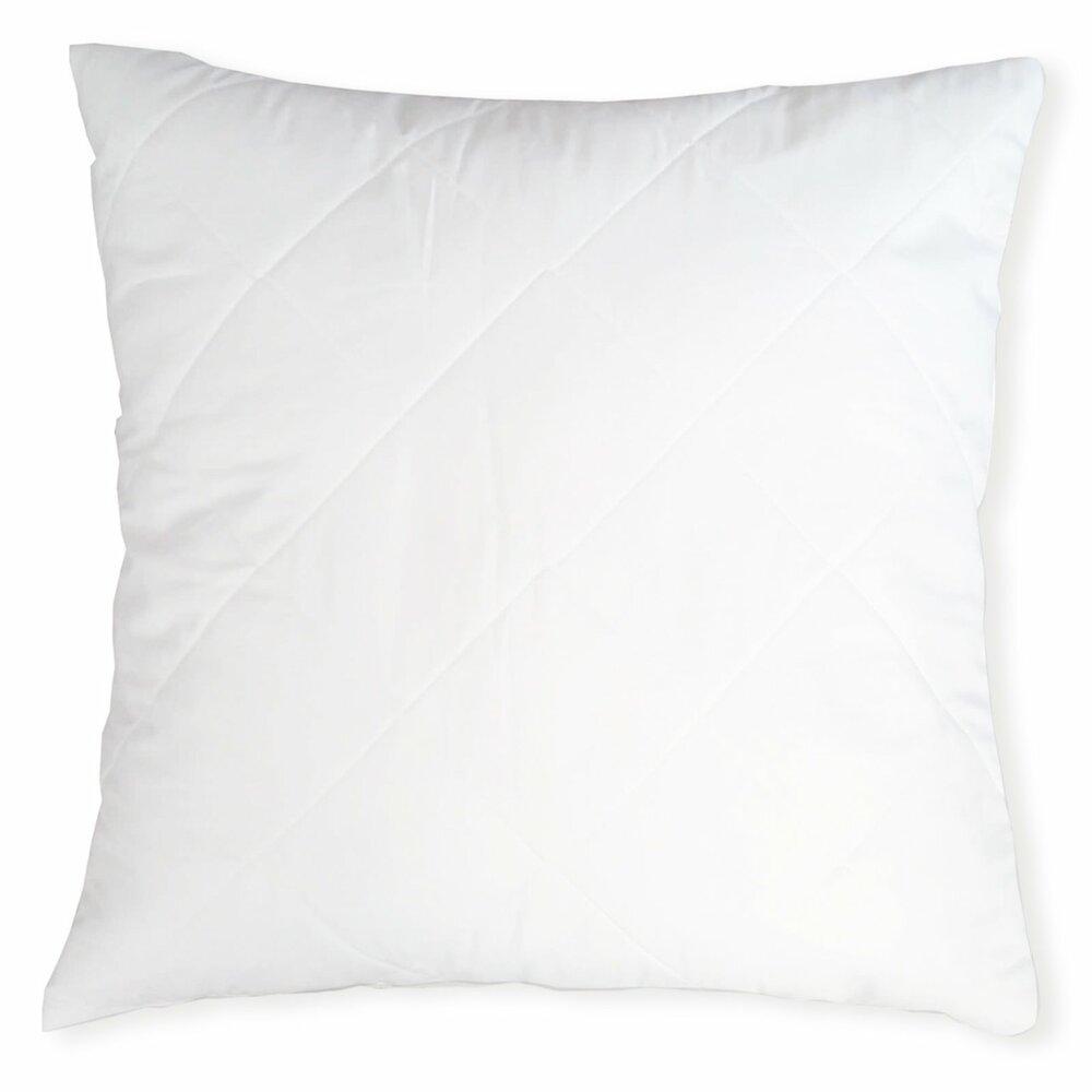 kopfkissen sanitized wei 80x80 cm kopfkissen bettdecken kissen heimtextilien deko. Black Bedroom Furniture Sets. Home Design Ideas