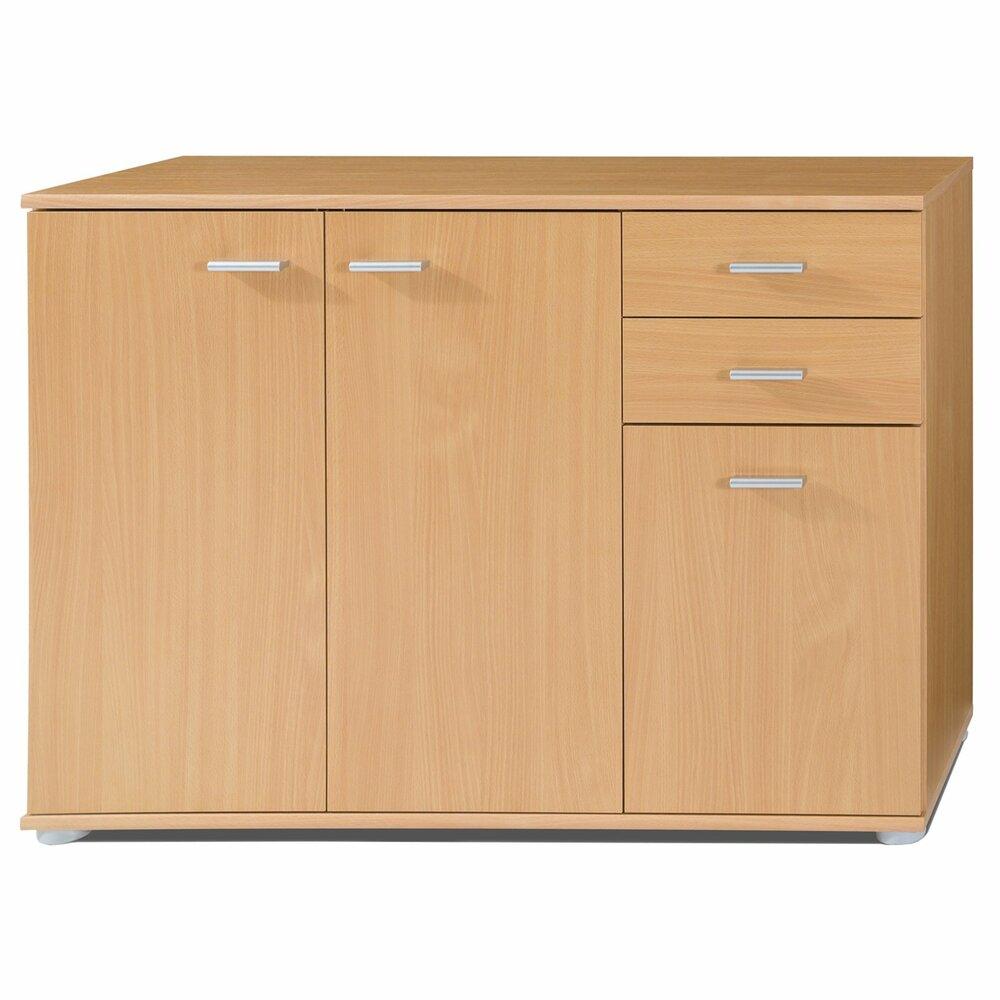 kommode mike 1 buche 106 cm kommoden sideboards m bel roller m belhaus. Black Bedroom Furniture Sets. Home Design Ideas