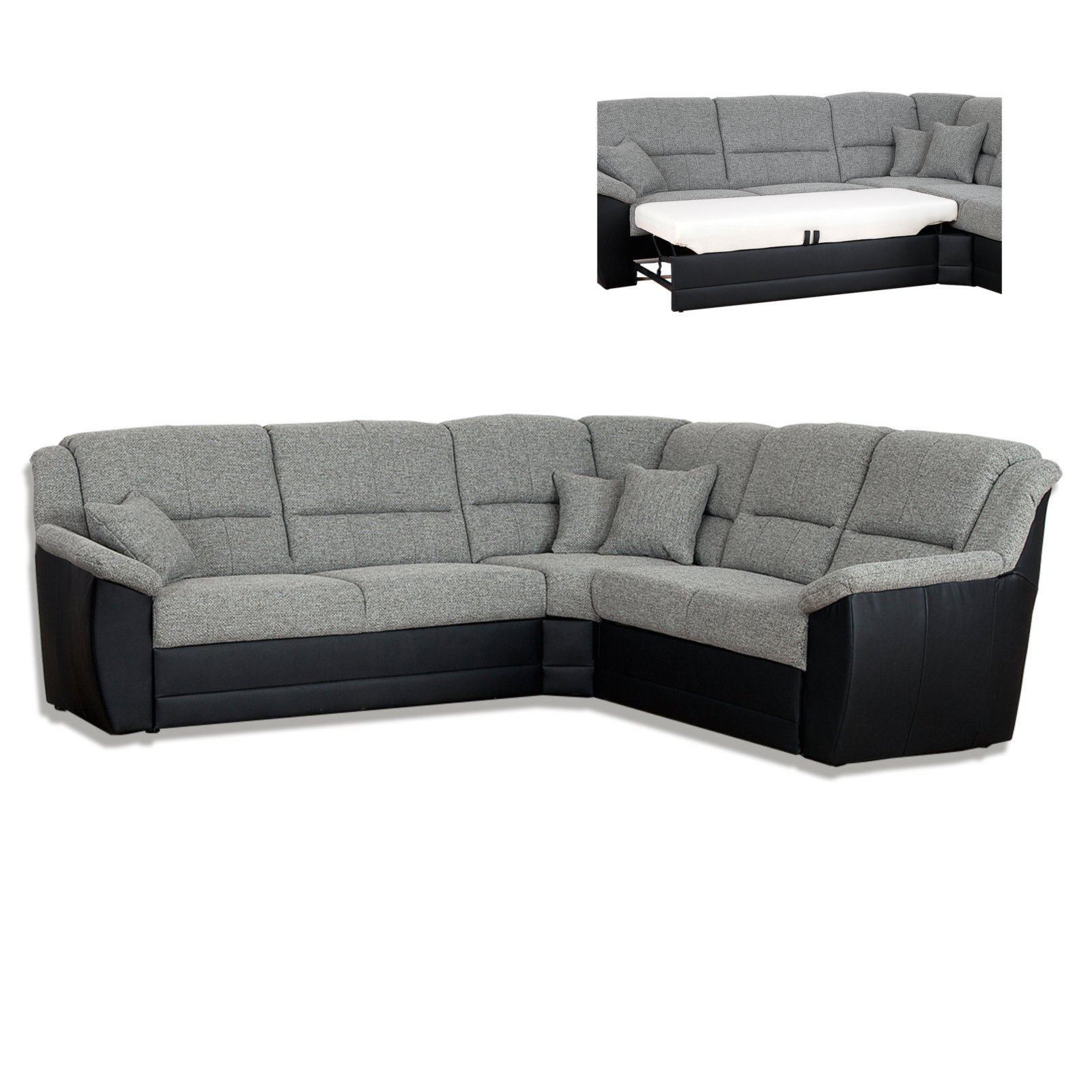 couch grau schwarz sofa modern stoff grau funvitcom treppe eiche sgerau with couch grau schwarz. Black Bedroom Furniture Sets. Home Design Ideas