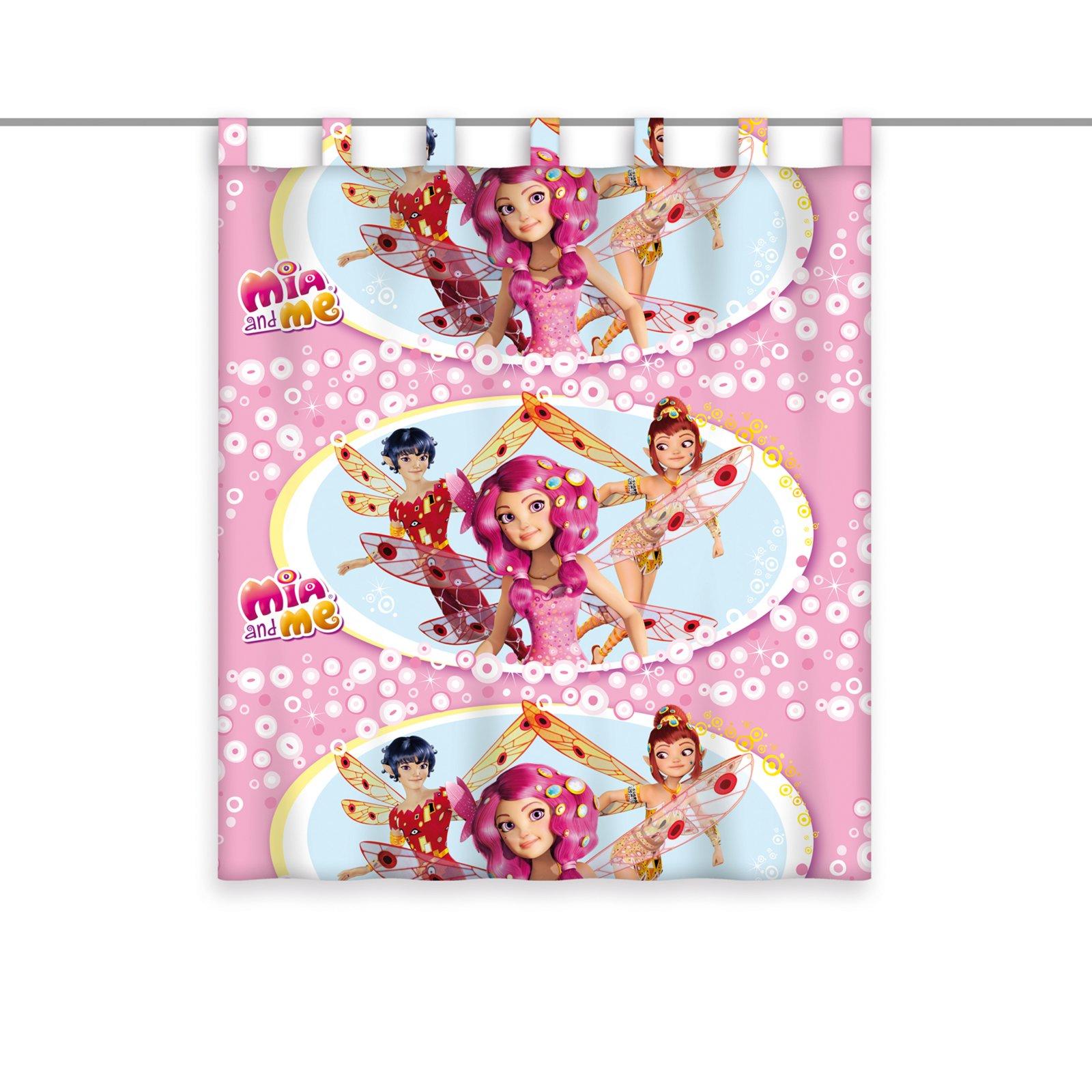 Schlaufenschal MIA AND ME   rosa   140x160 cm | Kindergardinen