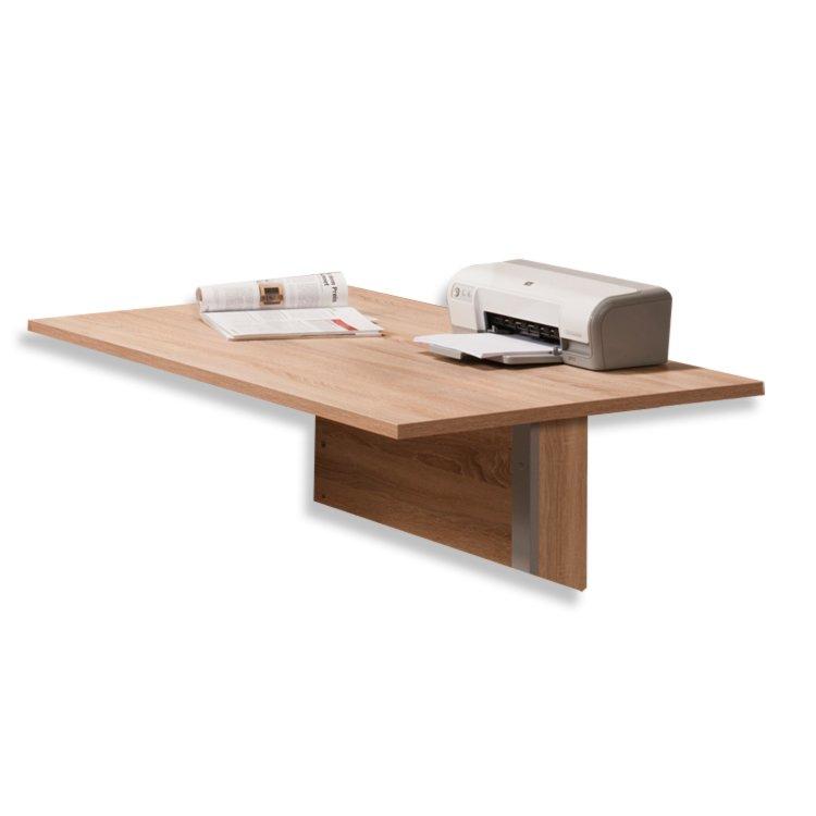 schreibtischplatte contact sonoma eiche 150 cm ebay. Black Bedroom Furniture Sets. Home Design Ideas