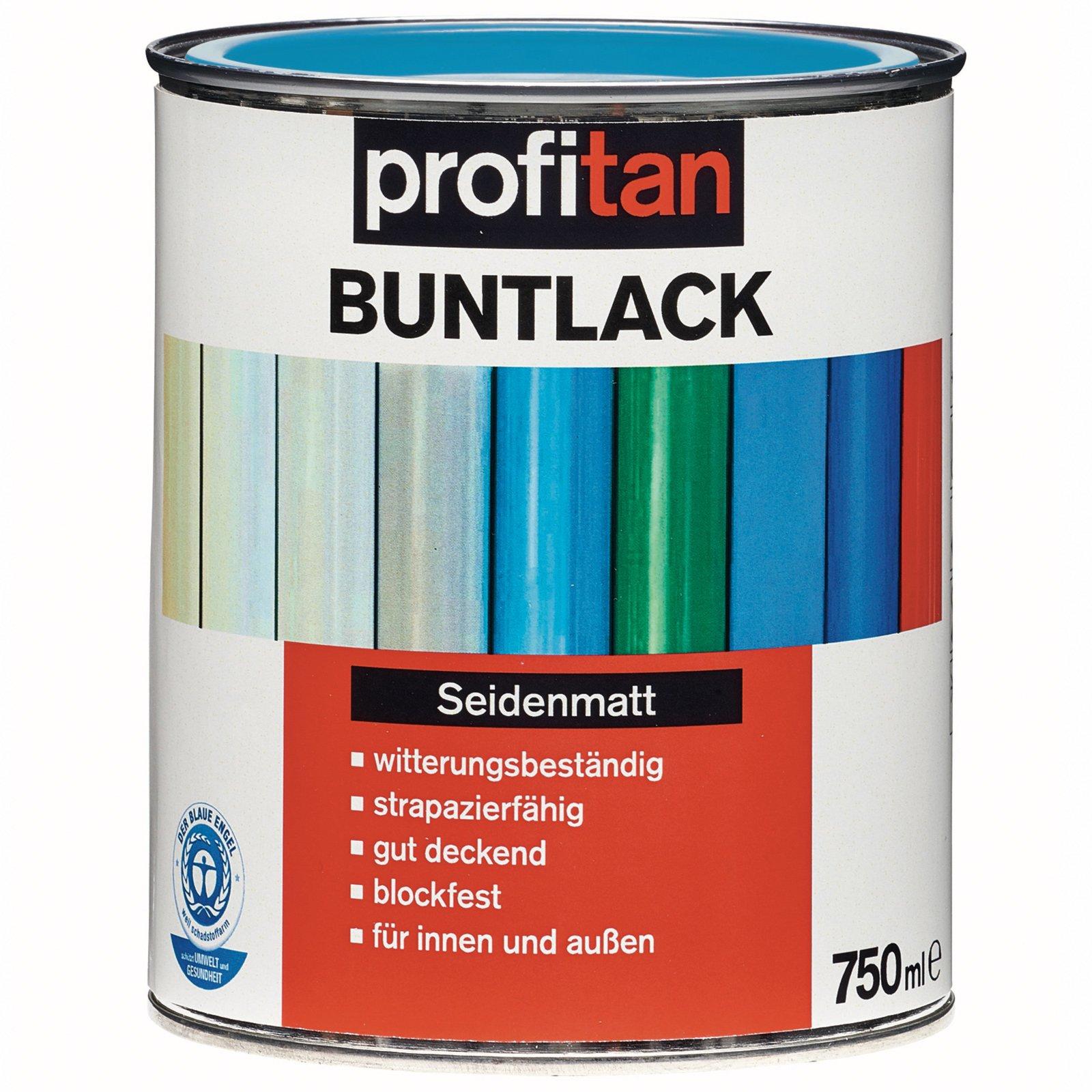 profitan Buntlack - friesenblau seidenmatt - 750 ml
