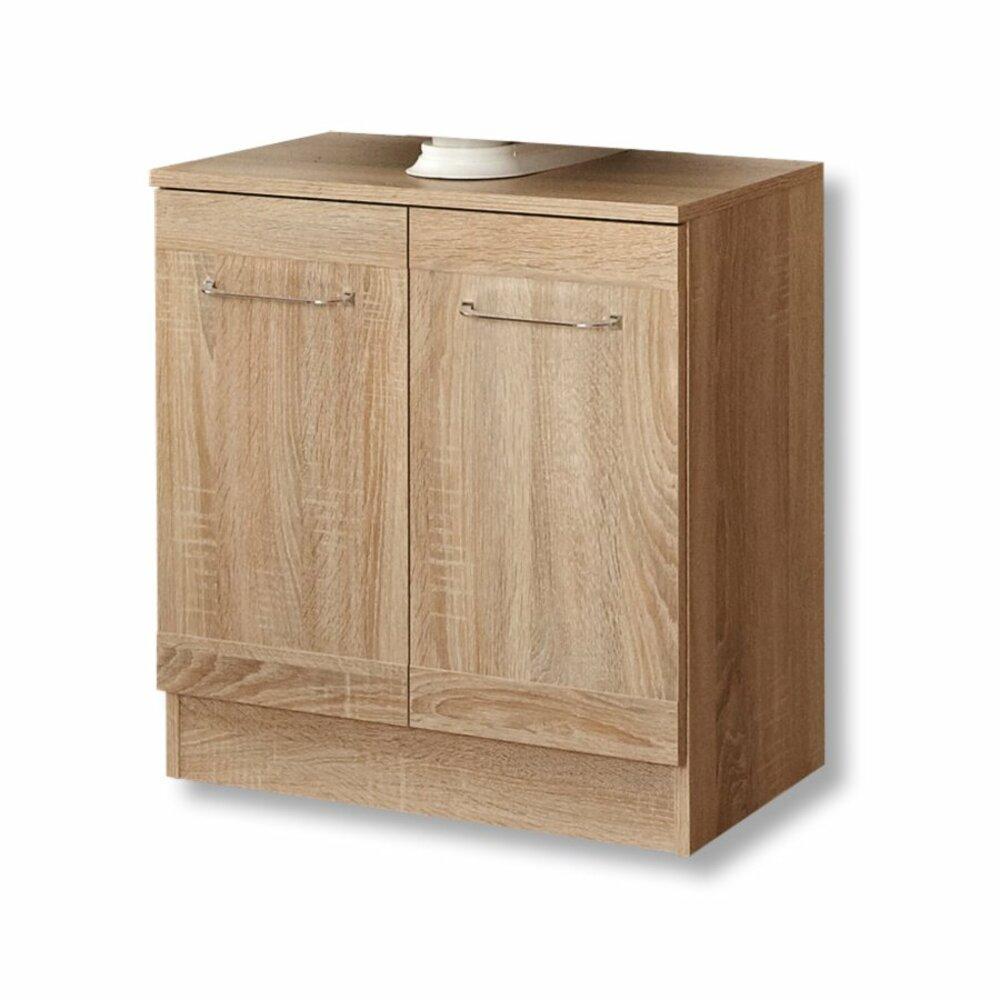 waschbeckenunterschrank luanda eiche natur waschbeckenunterschr nke badm bel badezimmer. Black Bedroom Furniture Sets. Home Design Ideas