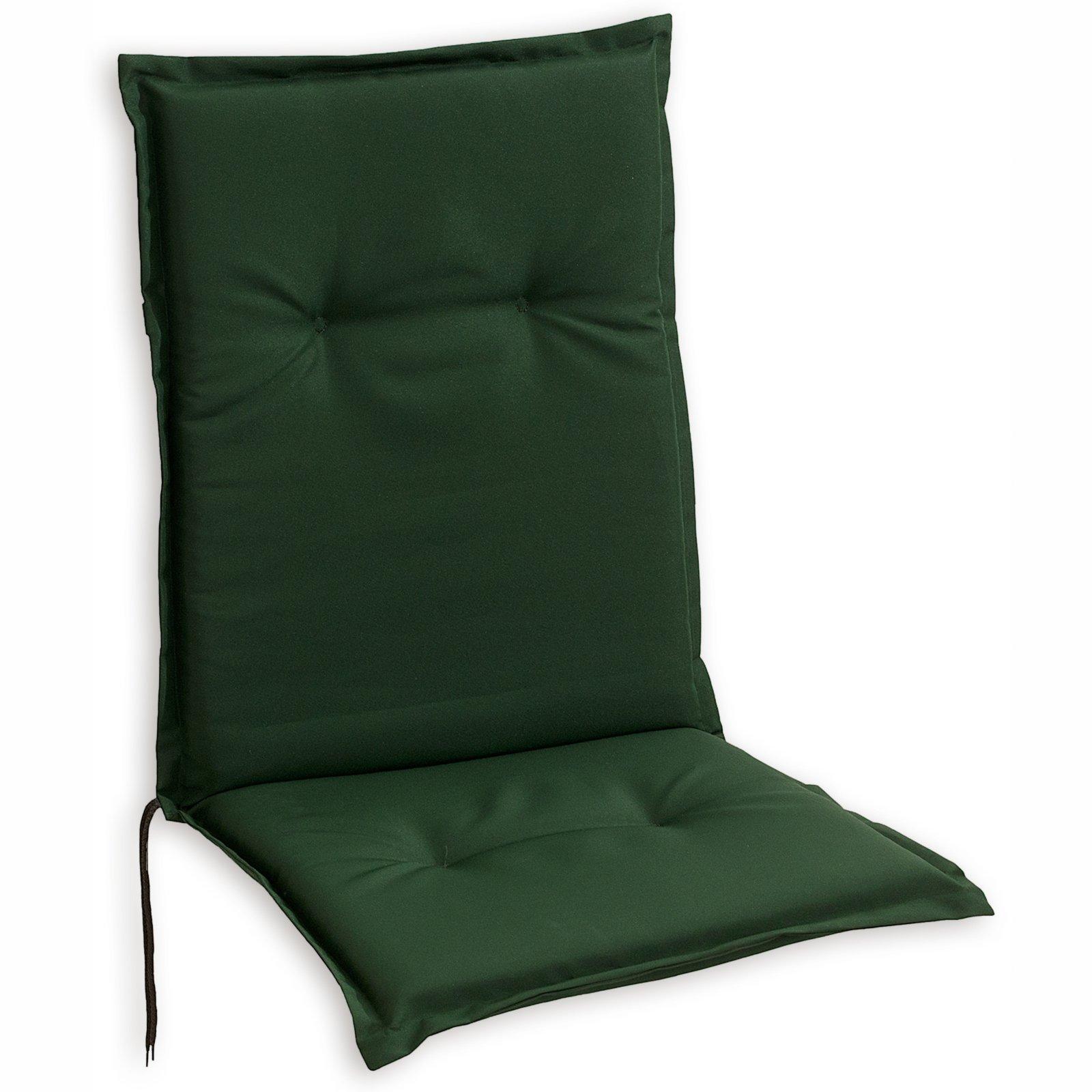 Niedriglehner-Sitzauflager WOODY - grün - 48x100 cm ...
