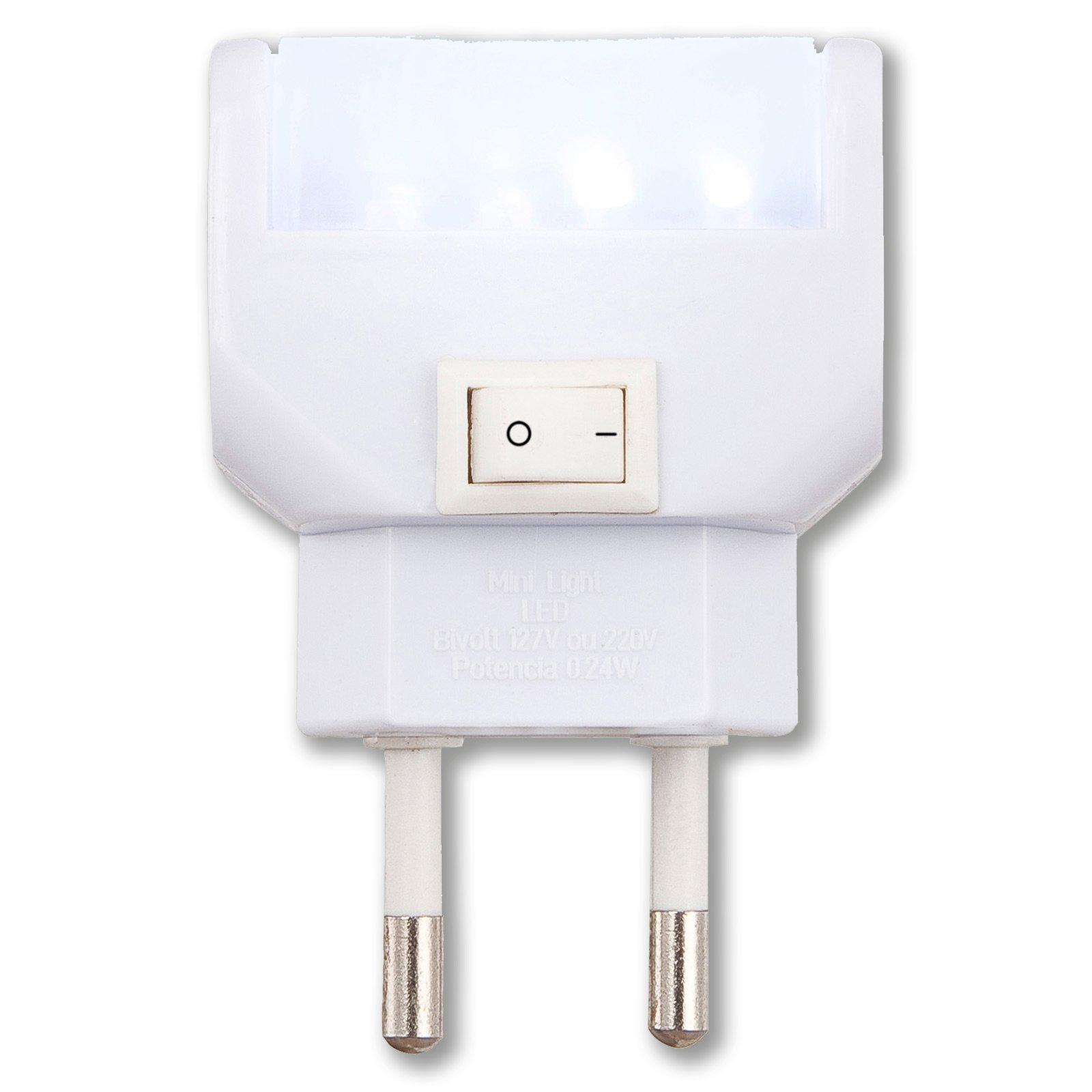 LED-Nachtlicht CHASER - tageslichtweiß - 14,5x30 cm
