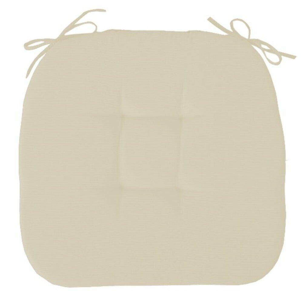 stuhlkissen fino beige 41x41 cm stuhl sitzkissen. Black Bedroom Furniture Sets. Home Design Ideas