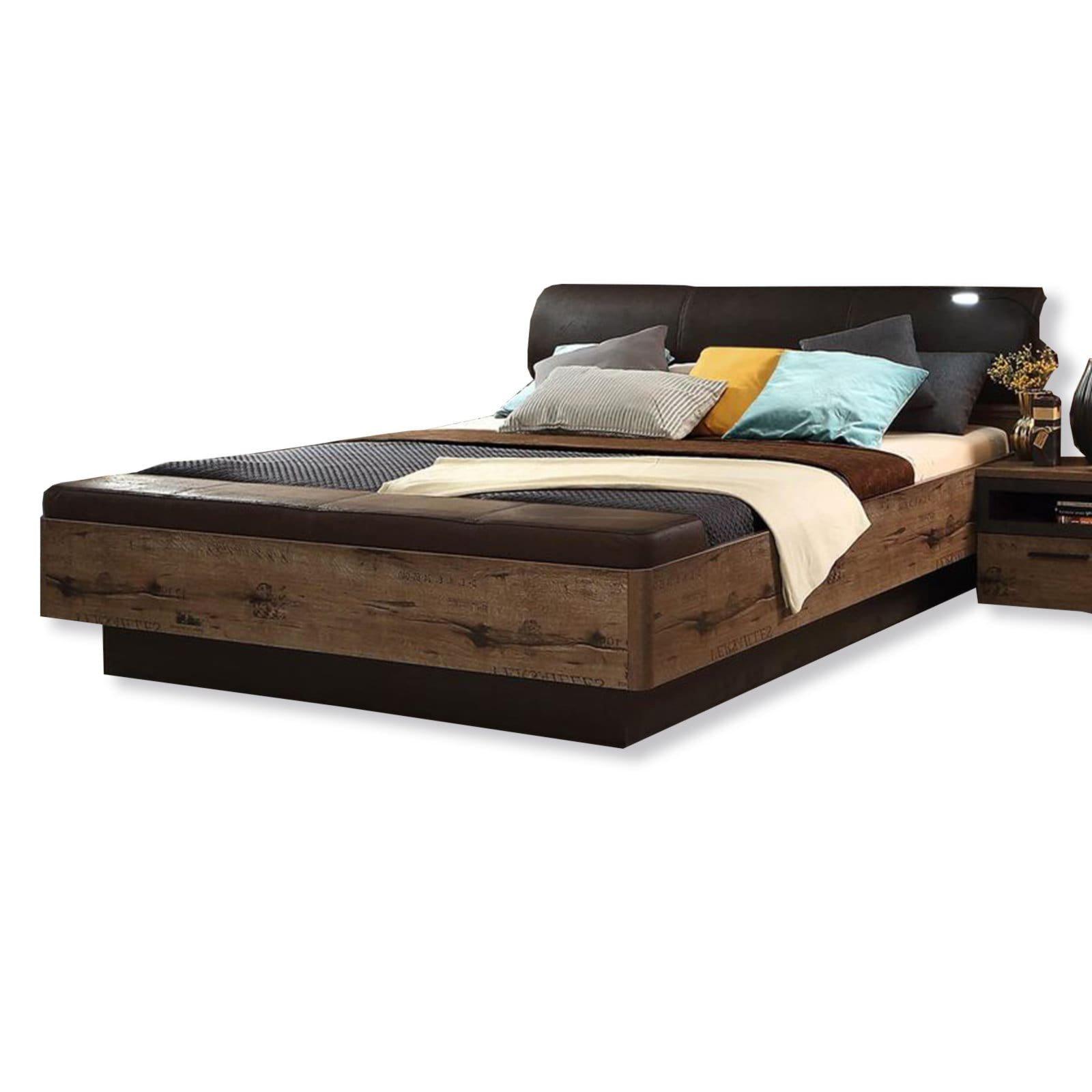 bettanlage jacky schlammeiche schwarzeiche 180x200 cm schlafzimmer jacky. Black Bedroom Furniture Sets. Home Design Ideas