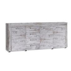 Sideboard RIVER - Canyon White Pinie - Vintage
