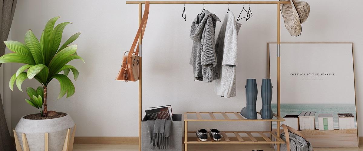 Kleiderständer Holz
