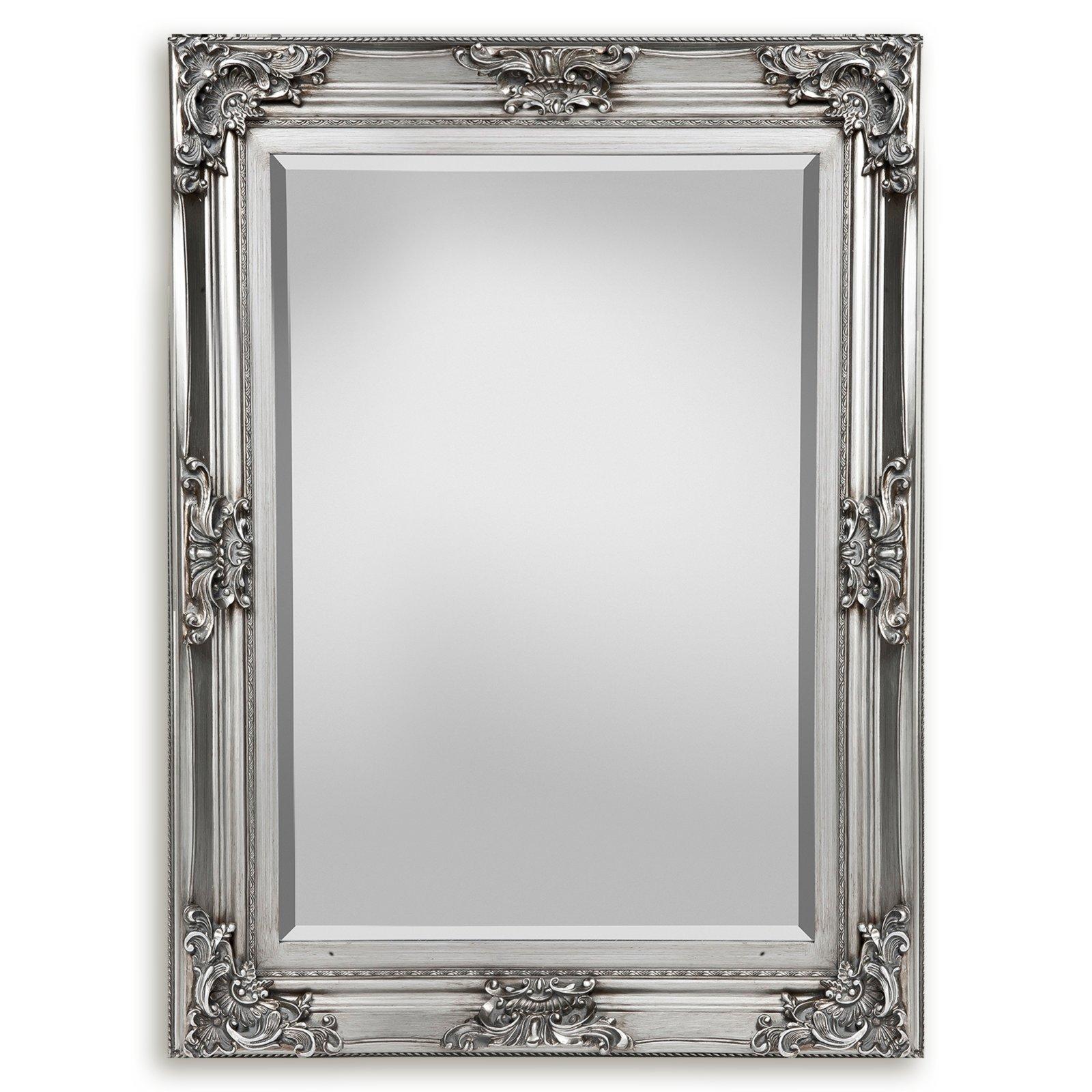 spiegel silber hochglanz 85x115 cm online bei roller. Black Bedroom Furniture Sets. Home Design Ideas