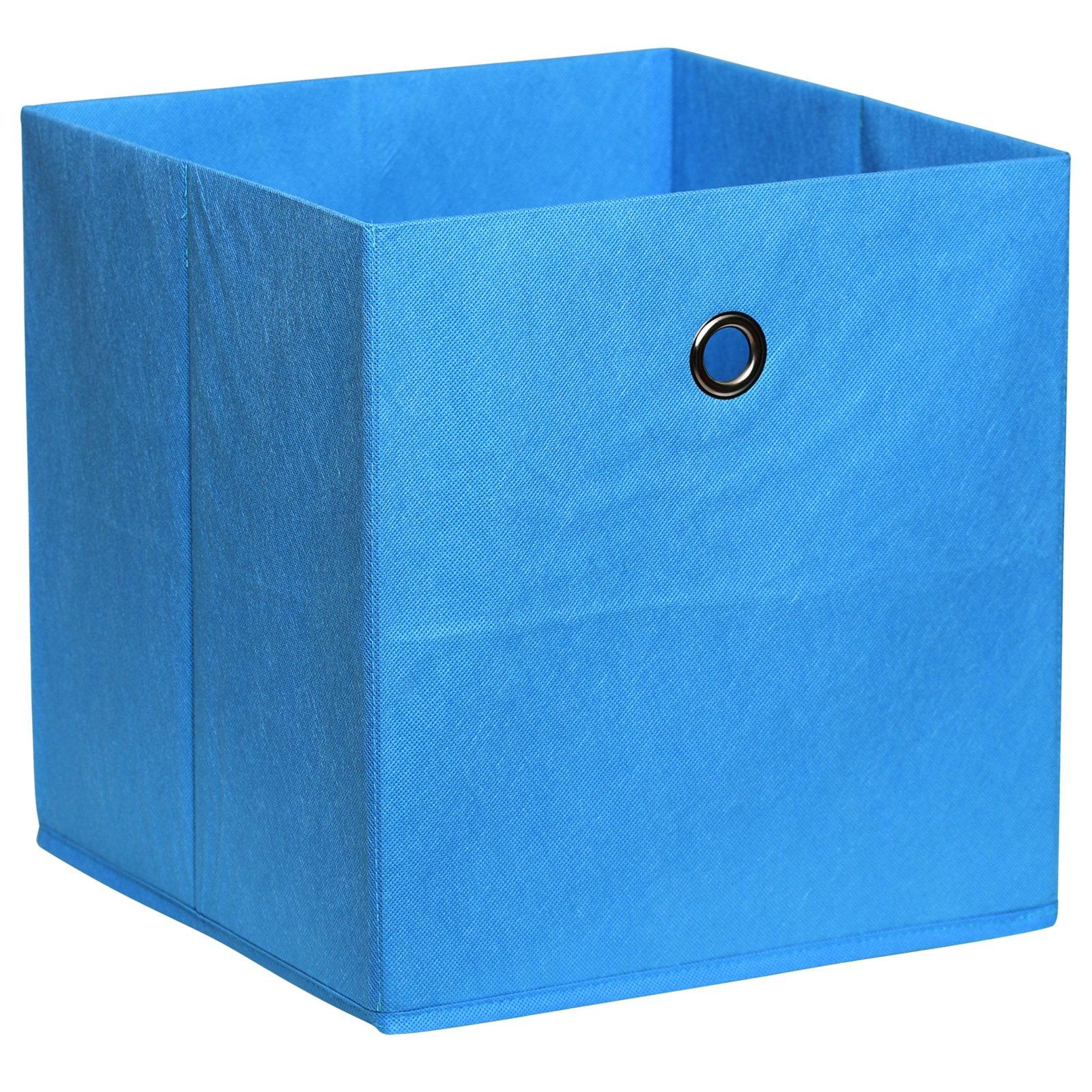 Faltbox - petrol - mit Metallöse - 32x32 cm