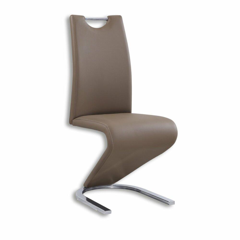 schwinger stuhl hellbraun kunstlederangebot bei roller kw in deutschland. Black Bedroom Furniture Sets. Home Design Ideas