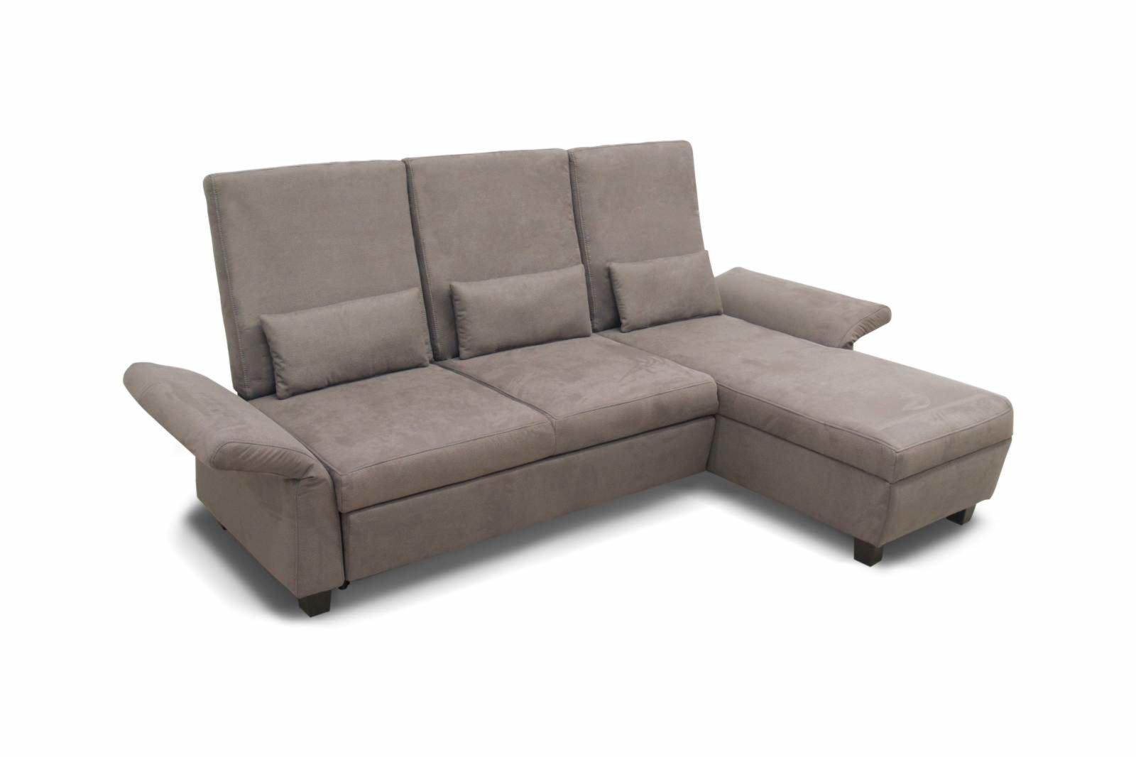 polsterecke schlamm braun kopfteilverstellung. Black Bedroom Furniture Sets. Home Design Ideas
