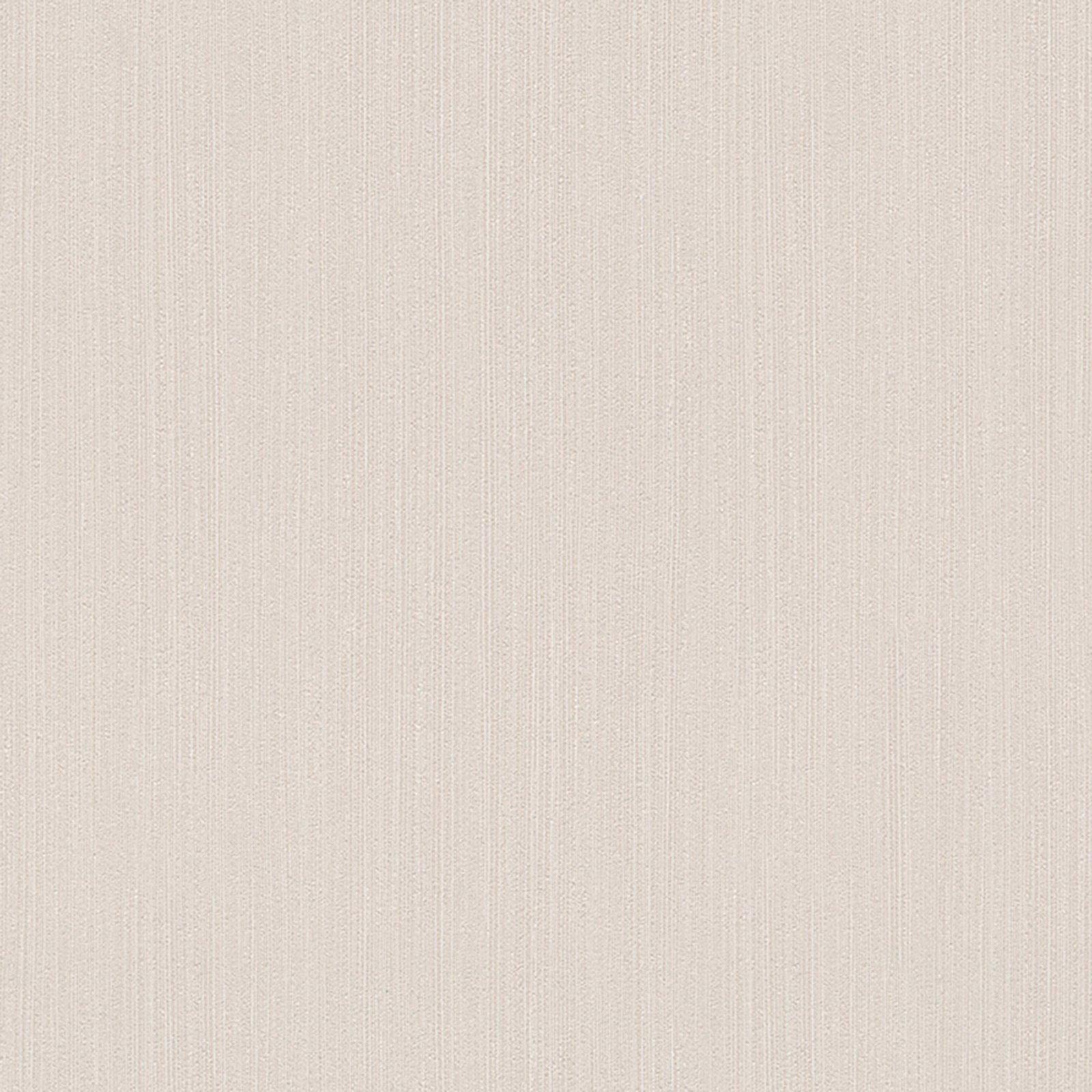A s creation vliestapete uni beige 10 meter for Roller tapeten