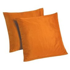 2er-Pack Kissenbezug HIGH CLASS - orange - 80x80 cm
