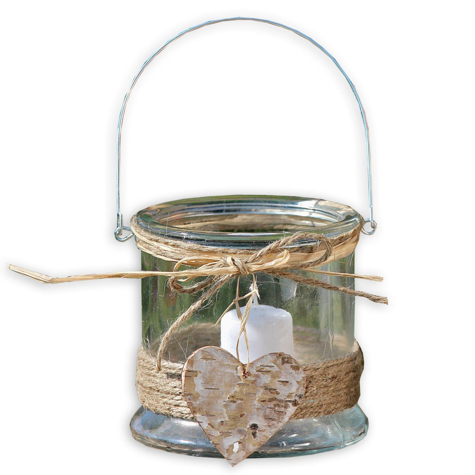 Windlicht klar glas 12 cm kerzen kerzenhalter for Wohnaccessoires deko
