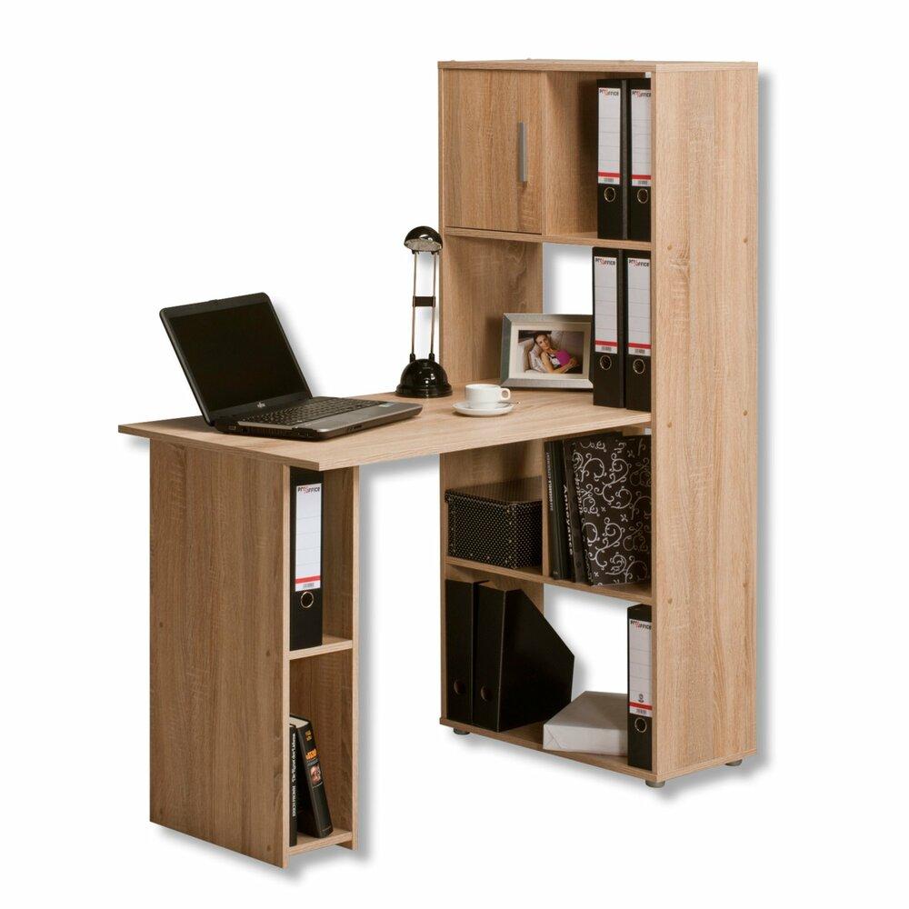 schreibtisch regalkombination schreibtische m bel. Black Bedroom Furniture Sets. Home Design Ideas