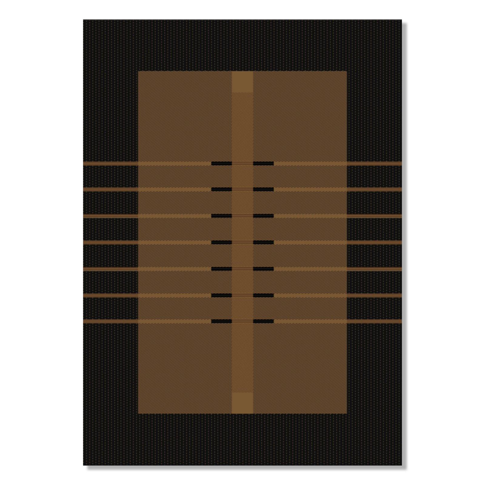 teppich oslo braun 160x230 cm gemusterte teppiche teppiche l ufer deko haushalt. Black Bedroom Furniture Sets. Home Design Ideas