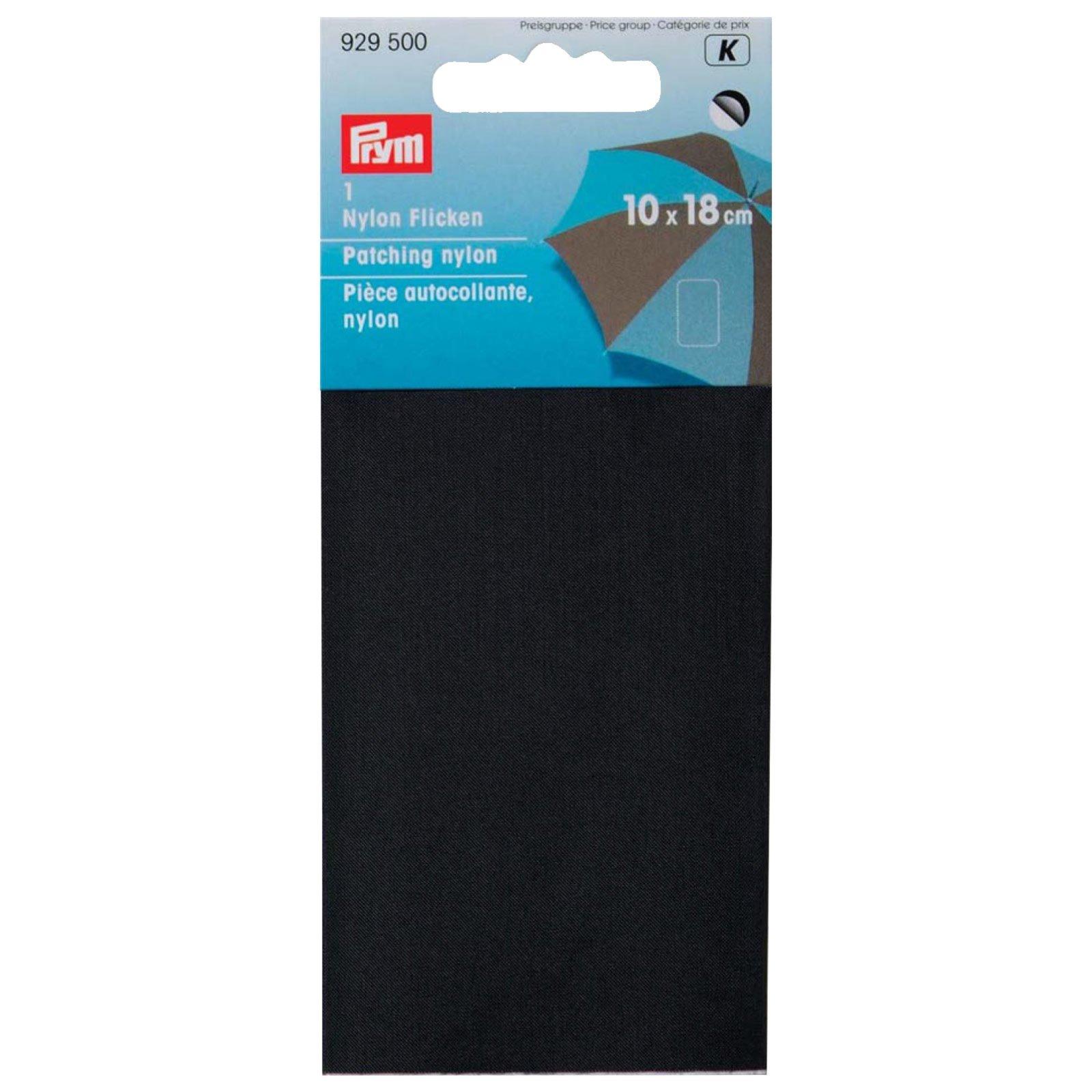 Klebeflicken - schwarz - 10x18 cm