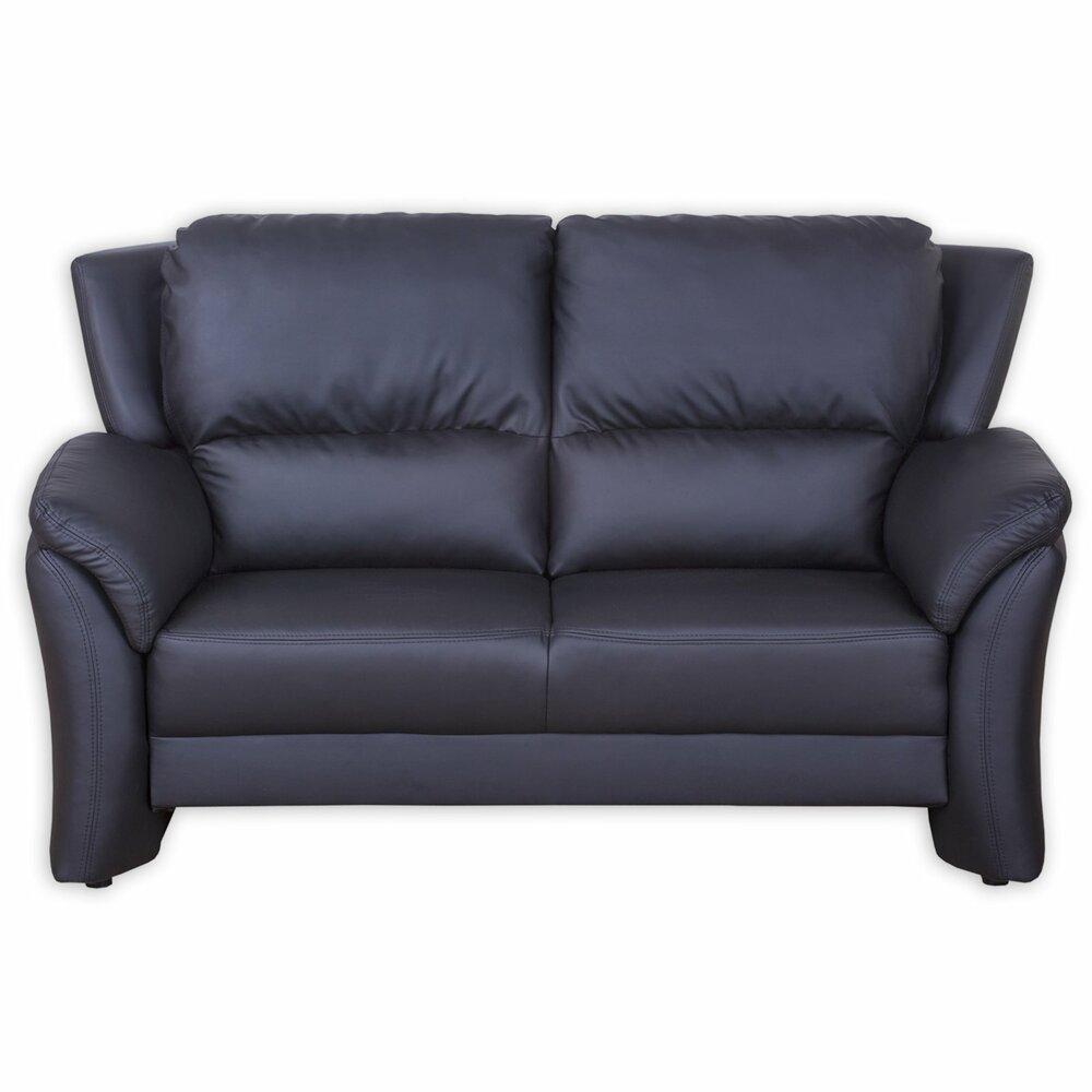 2 sitzer sofa schwarz kunstlederangebot bei roller. Black Bedroom Furniture Sets. Home Design Ideas