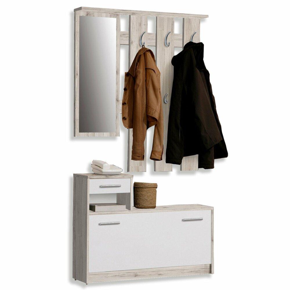Garderobe foxi sandeiche 98 cm breite garderoben for Garderobe 98 cm