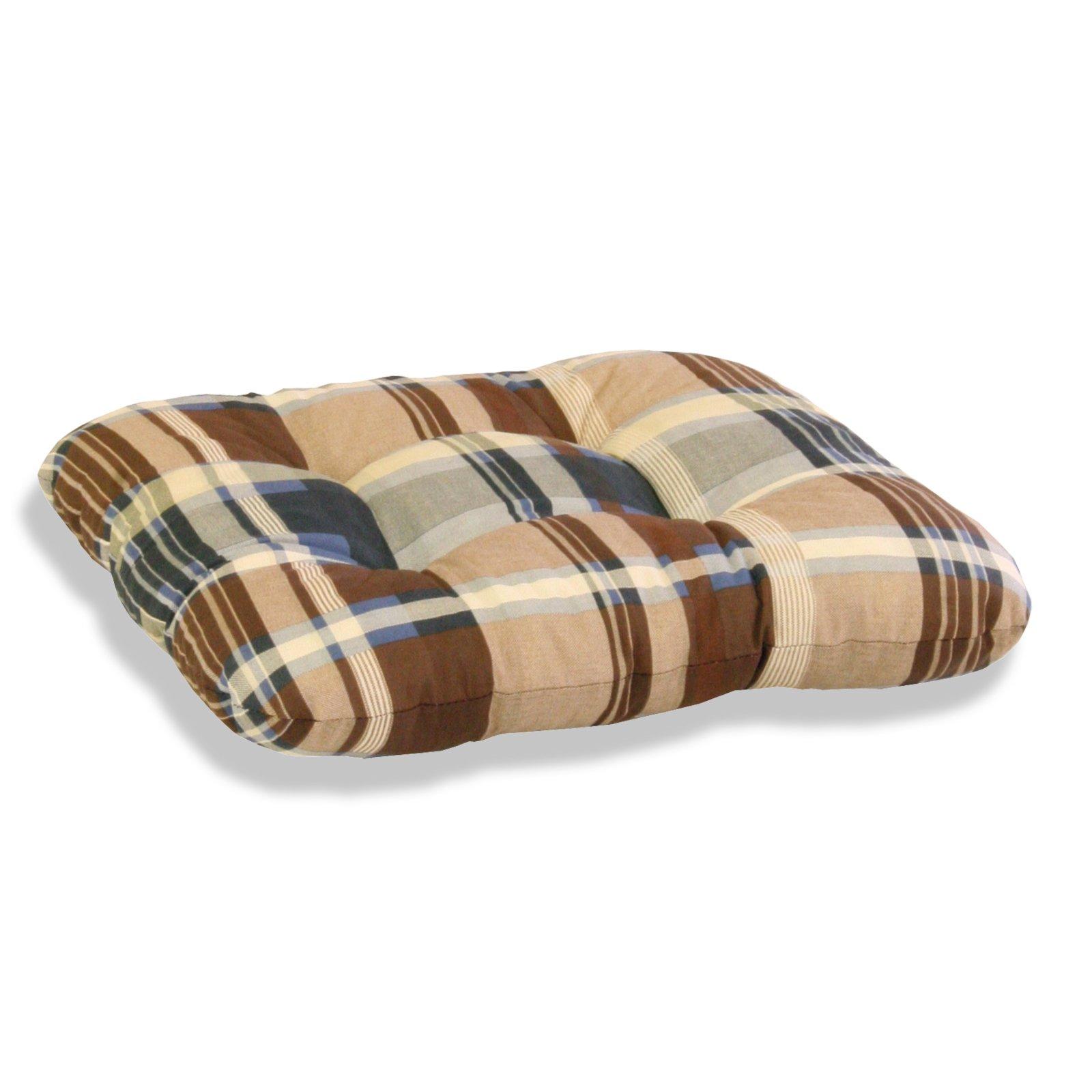 sitzkissen sevilla braun beige auflagen f r gartenm bel garten m belhaus roller. Black Bedroom Furniture Sets. Home Design Ideas