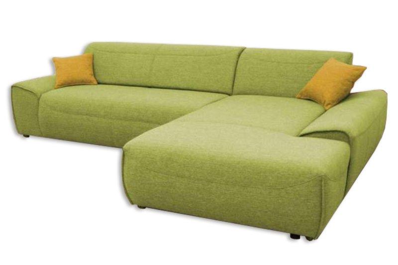ecksofa gr n recamiere rechts ecksofas l form sofas couches m bel roller. Black Bedroom Furniture Sets. Home Design Ideas