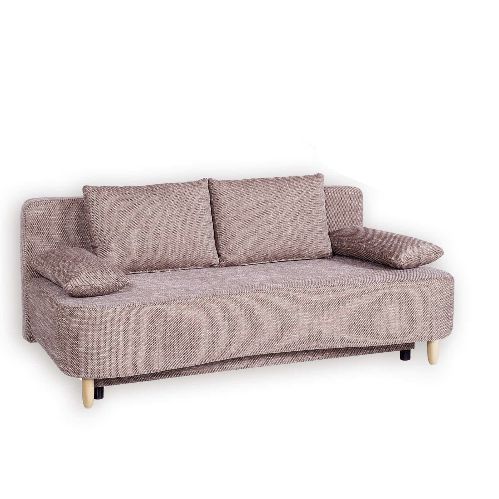 schlafsofa cappuccino federkern liegefunktion schlafsofas sofas couches m bel. Black Bedroom Furniture Sets. Home Design Ideas