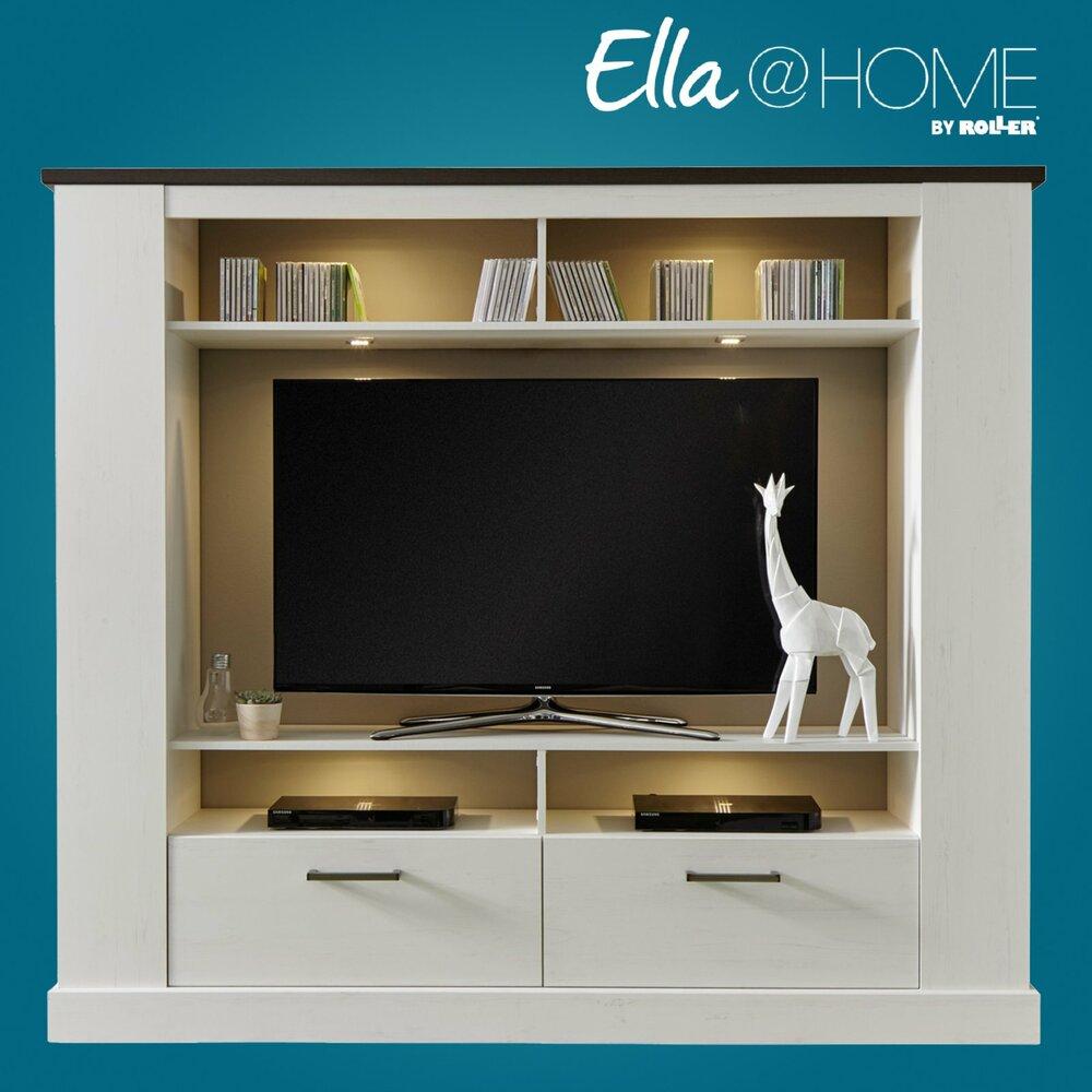 tv wand montreal pinie wei wenge 189x166 cm tv w nde wohnw nde m bel m belhaus roller. Black Bedroom Furniture Sets. Home Design Ideas