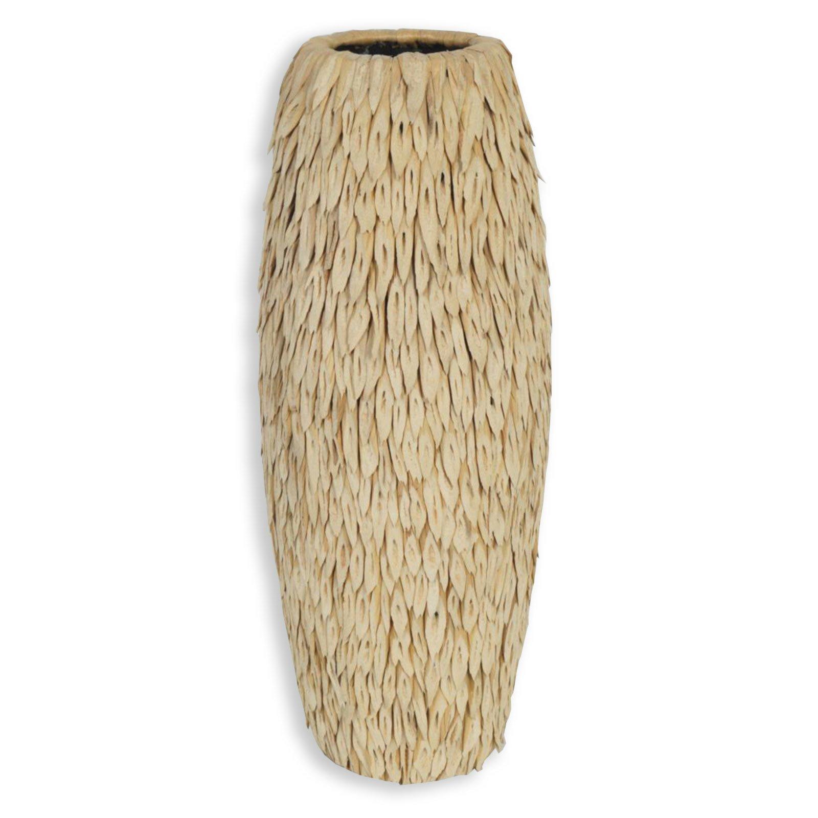 wohnzimmer deko natur:Vase – natur – 59 cm