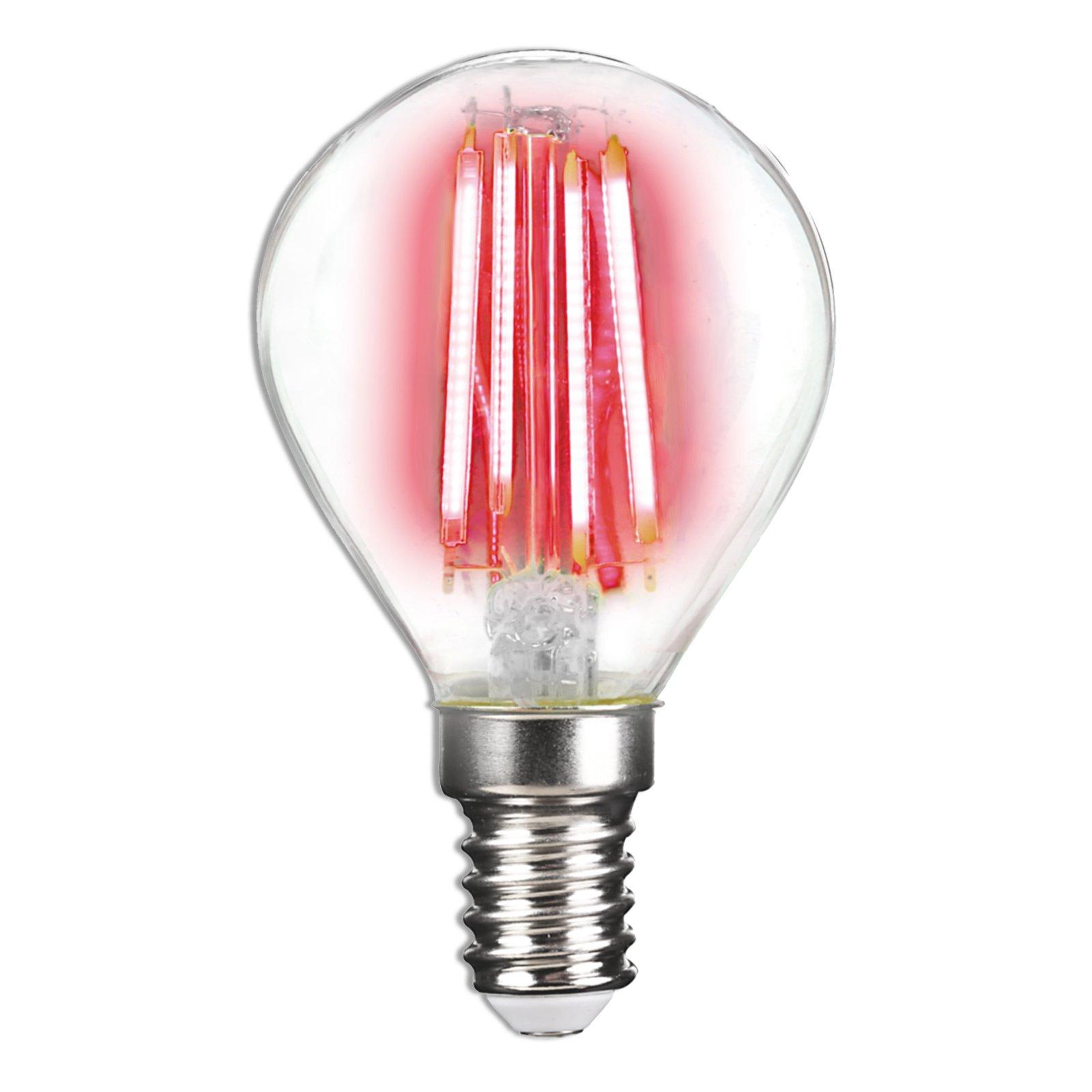 LED-Leuchtmittel LIGHTME - rot - E14 - 4 Watt