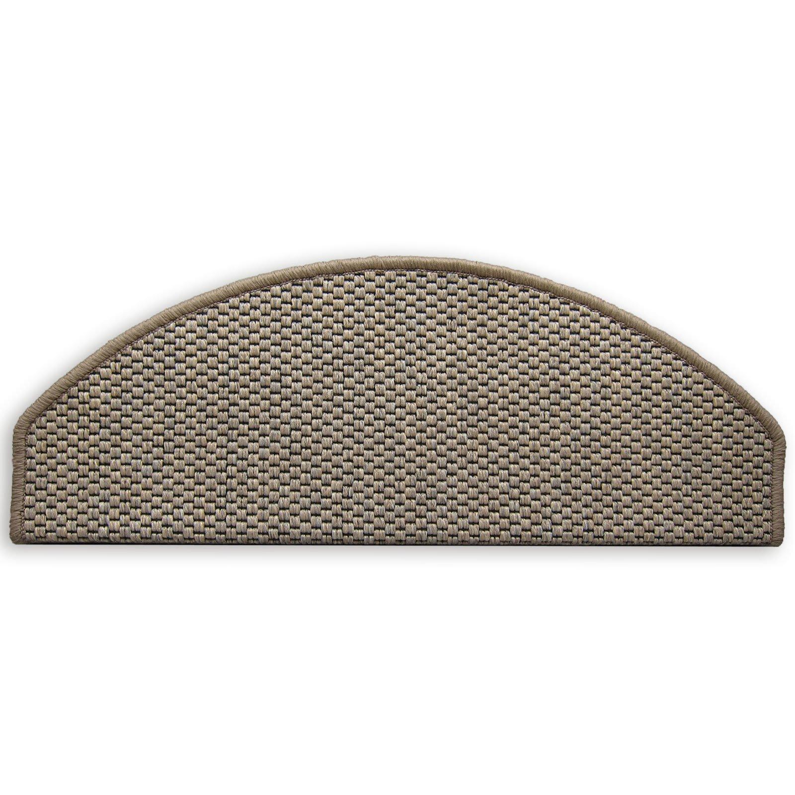 Stufenmatte NATURA - beige - 28x65 cm