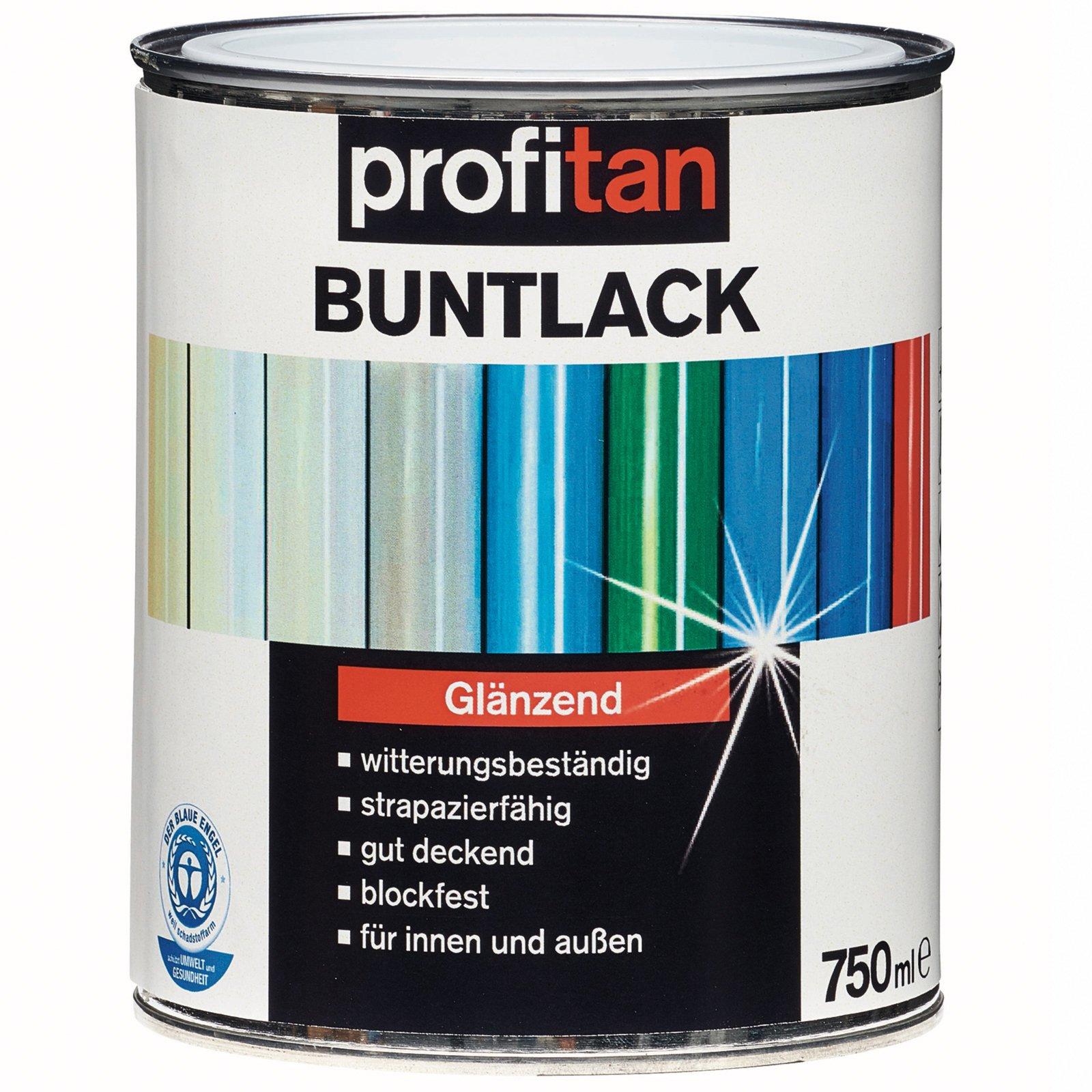 profitan Buntlack - reinweiß glänzend - 750 ml