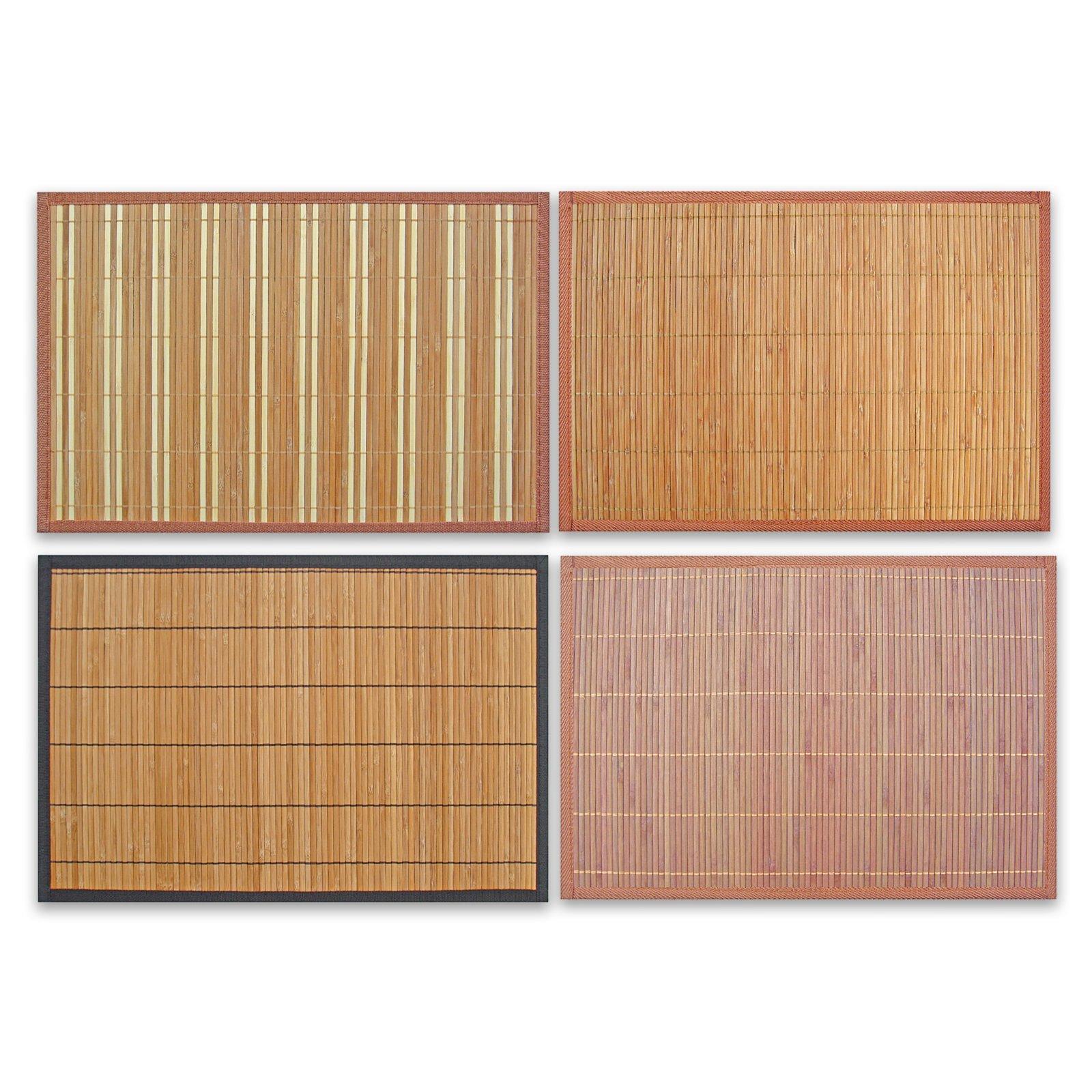 Tischset - Bambus - sortiertes Design - 30x45 cm