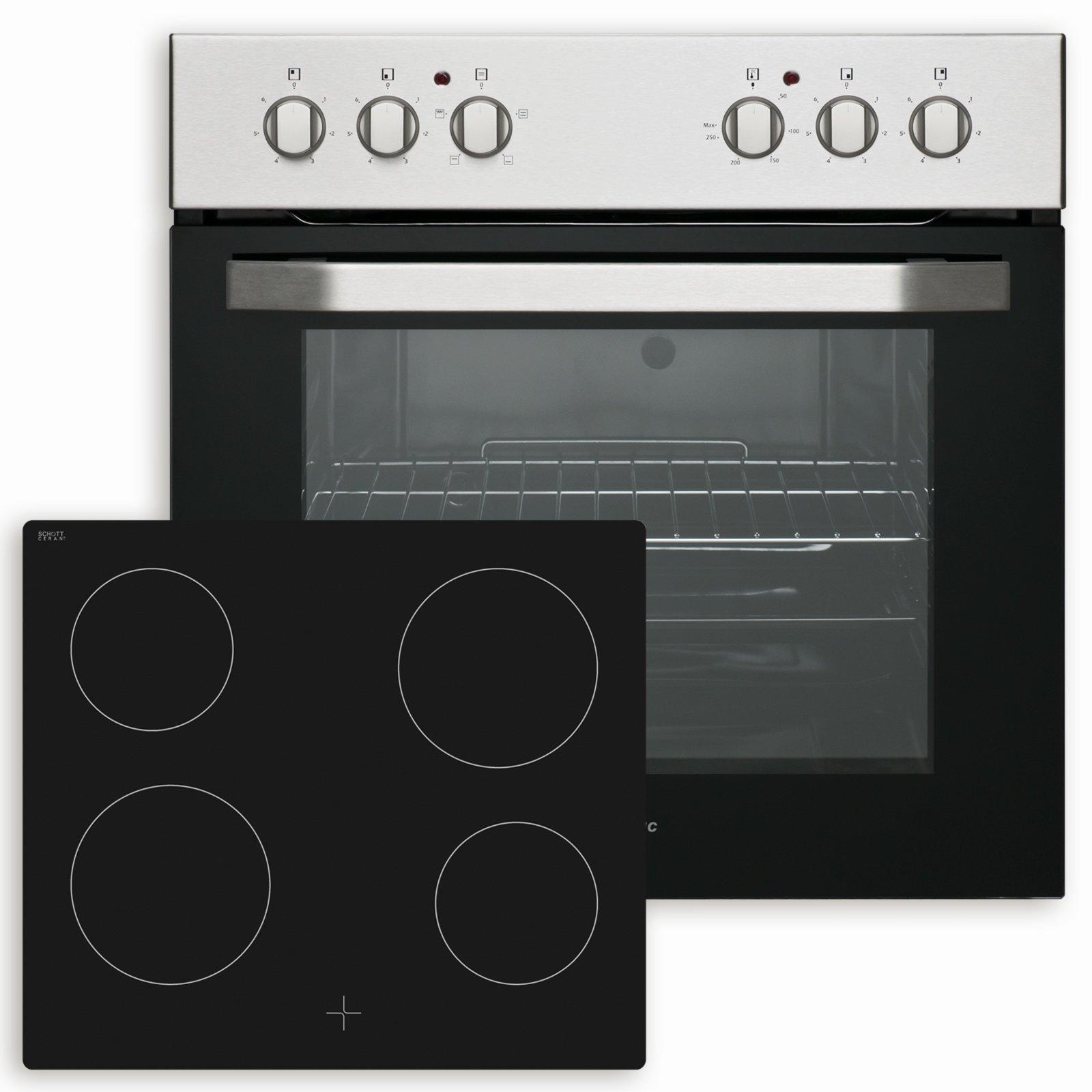 Küchenblock JOLINA - Lava Matt-Sonoma Eiche - mit E-Geräten ...