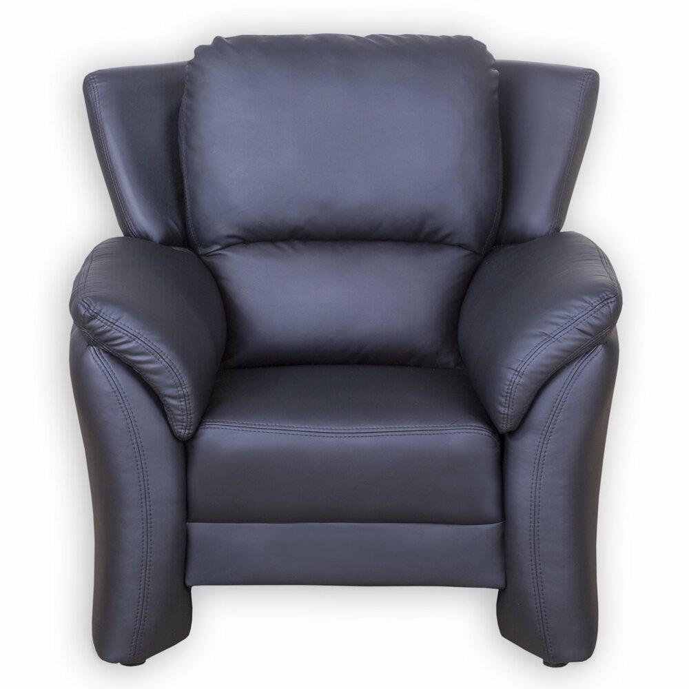sessel schwarz kunstlederangebot bei roller kw in. Black Bedroom Furniture Sets. Home Design Ideas