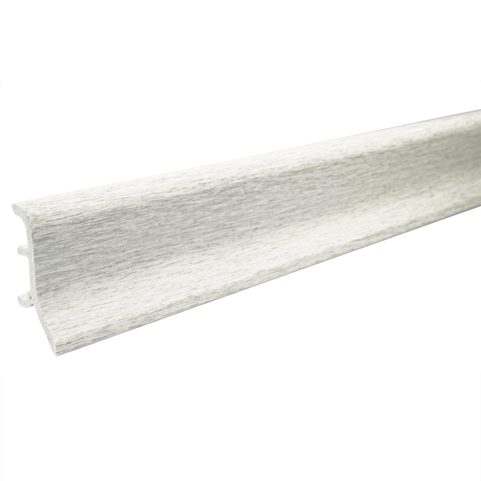 hartschaum sockelleiste esche grau 48 mm 250 cm fu leisten bodenbel ge renovieren. Black Bedroom Furniture Sets. Home Design Ideas