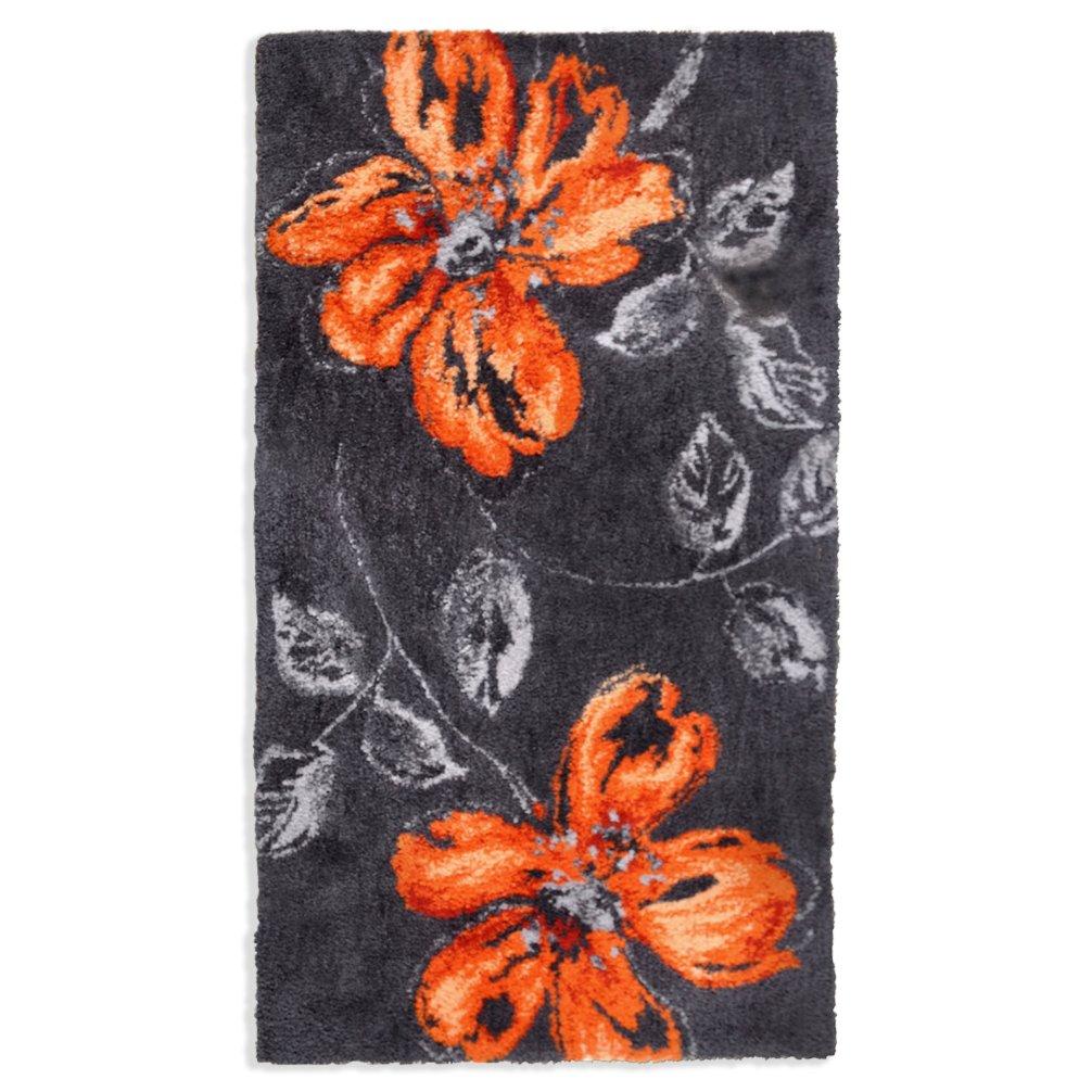 Teppich sevilla grau orange cm gemusterte