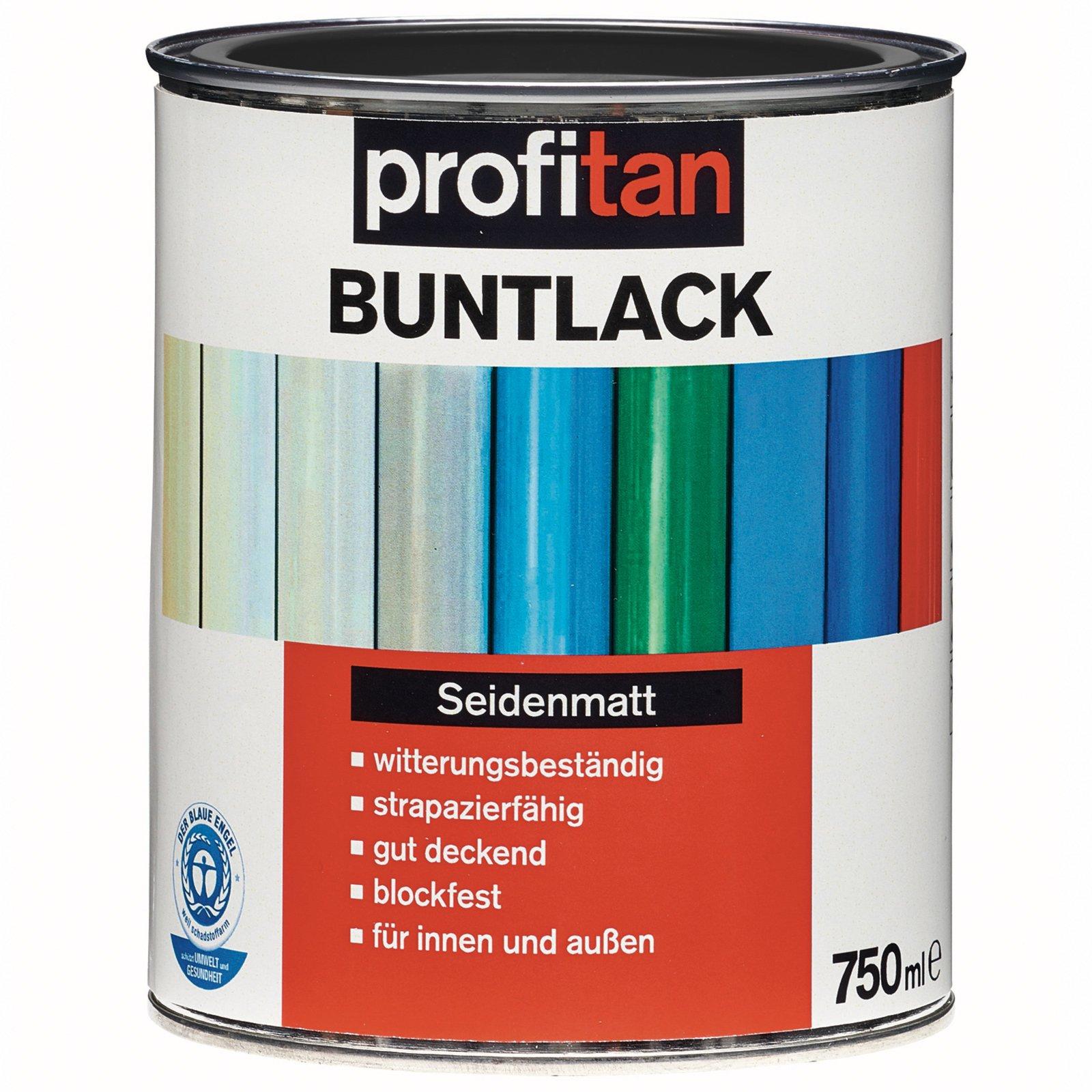 profitan Buntlack - tiefschwarz seidenmatt - 750 ml