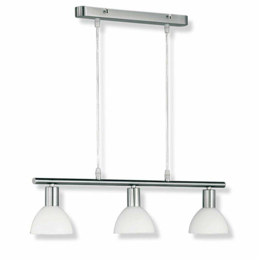 pendelleuchte balken nickel glas wei pendelleuchten h ngelampen lampen roller. Black Bedroom Furniture Sets. Home Design Ideas