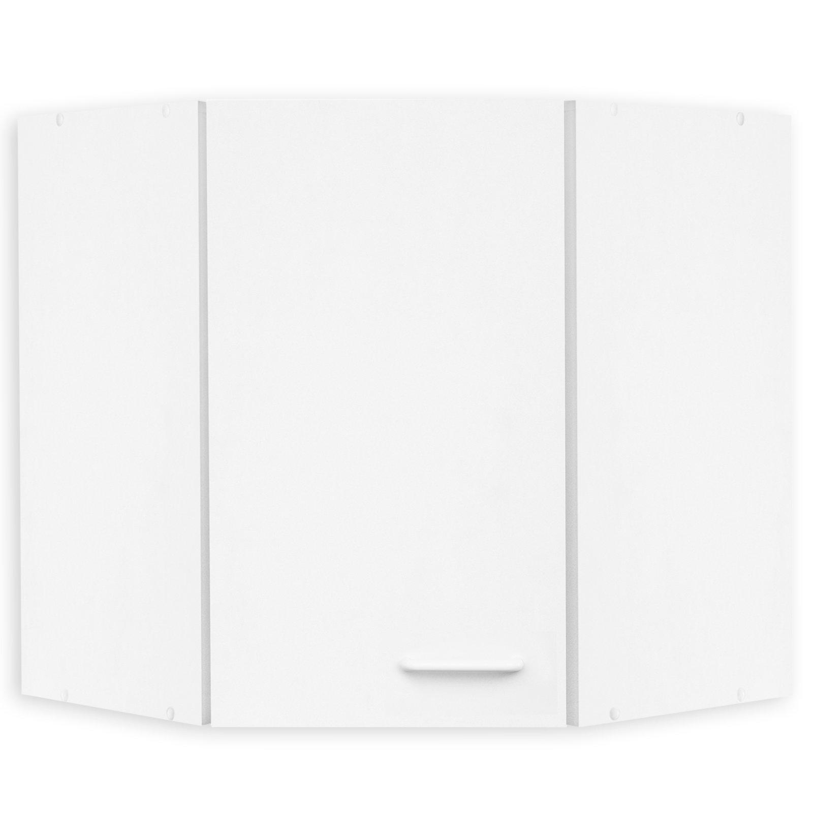 Eck-Hängeschrank WIEN - weiß - 60 cm | Eckschränke ... | {Eck hängeschrank küche 26}