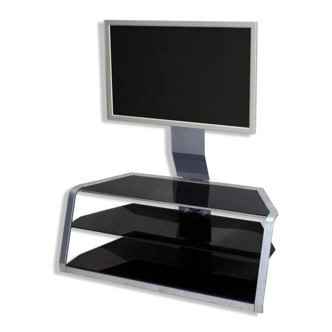 lcd tv regal fm15598 schwarz tv racks tv hifi m bel m bel roller m belhaus. Black Bedroom Furniture Sets. Home Design Ideas