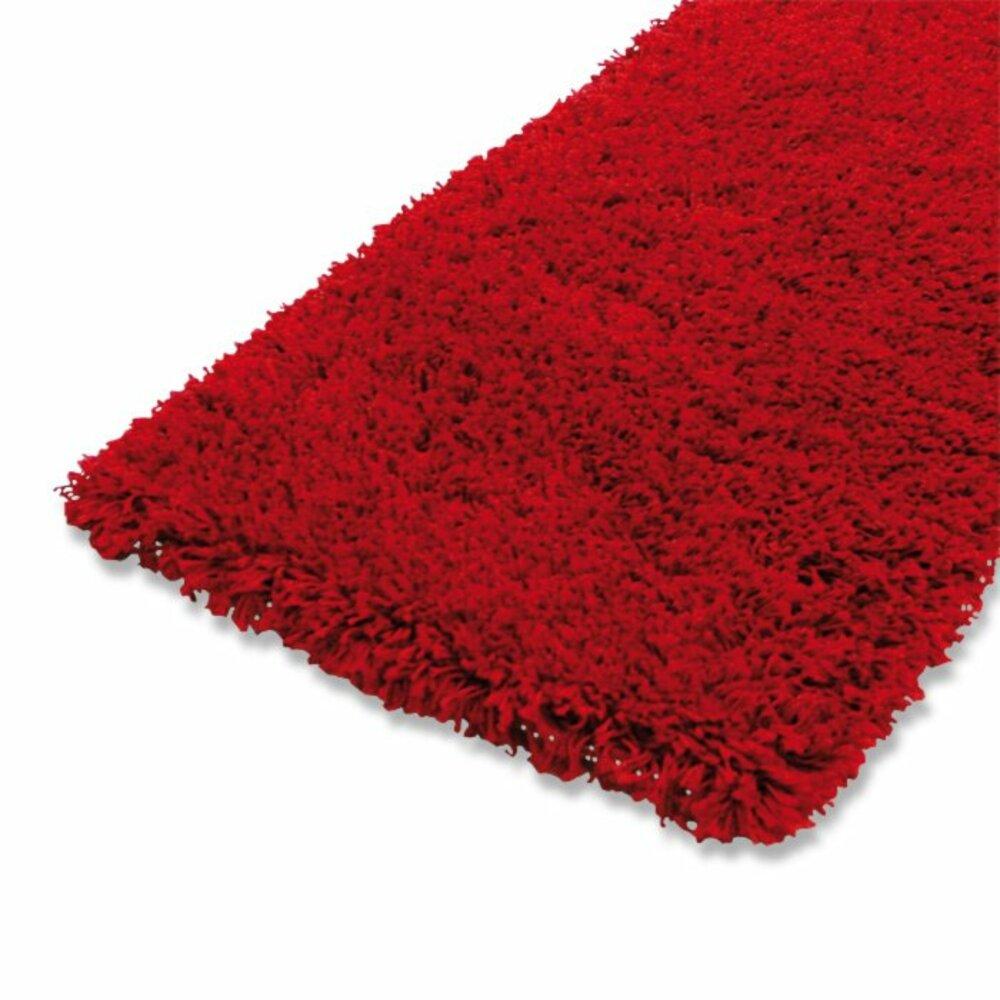 Teppich SHAGGY PLUS - rot - 160x230 cm | Hochflor ...