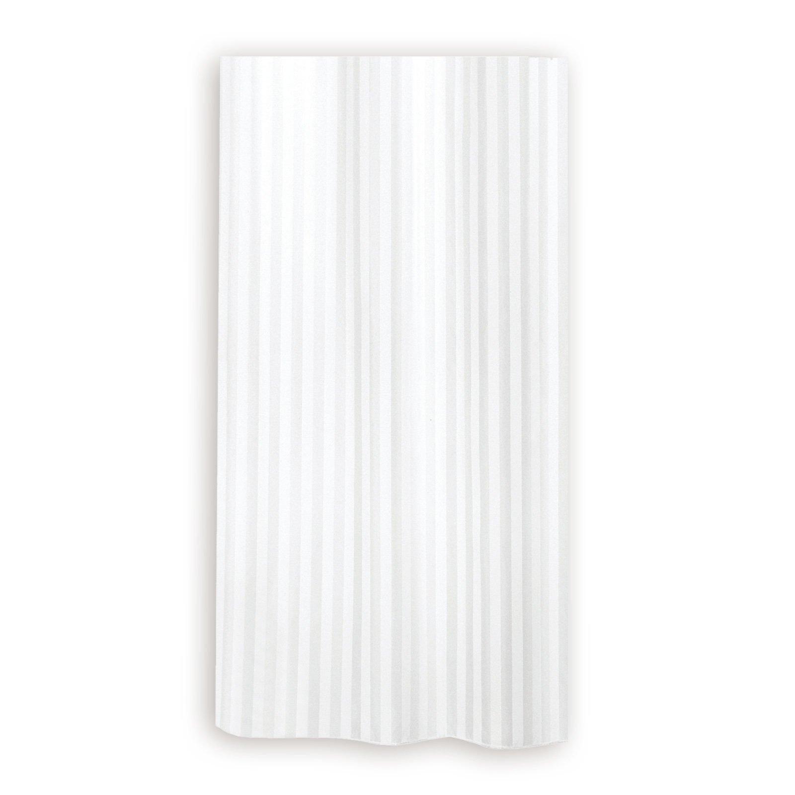 duschvorhang hilton wei 180x200 cm duschvorh nge. Black Bedroom Furniture Sets. Home Design Ideas
