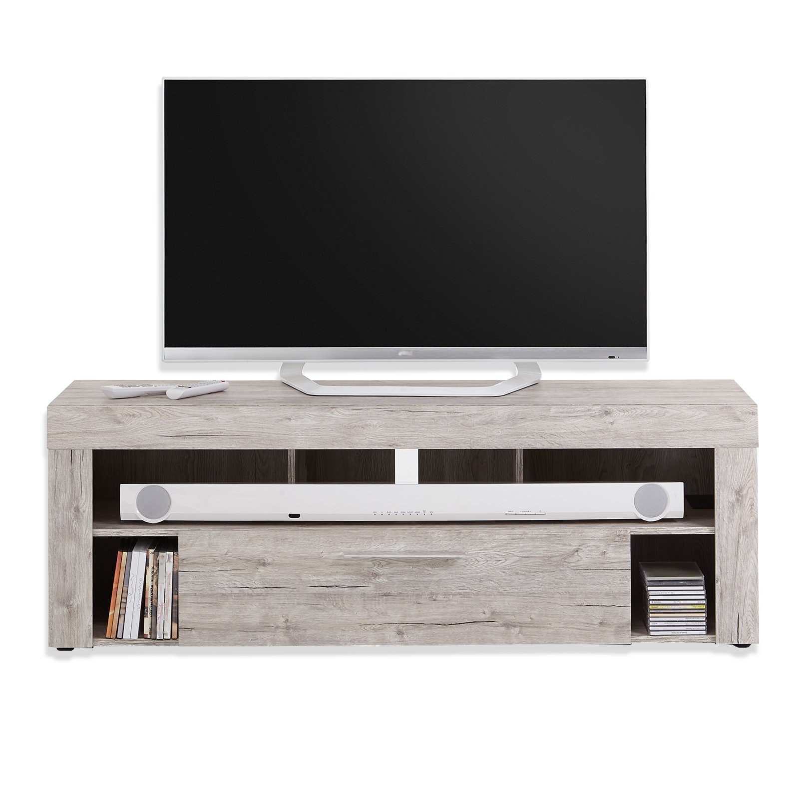 tv lowboard vibo sandeiche 150 cm tv lowboards b nke tv hifi m bel m bel. Black Bedroom Furniture Sets. Home Design Ideas