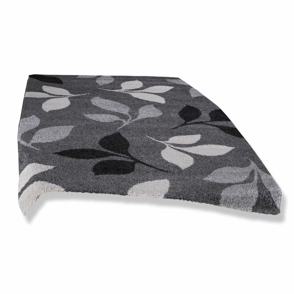 frisee teppich casa grau 120x170 cm gemusterte teppiche teppiche l ufer deko. Black Bedroom Furniture Sets. Home Design Ideas