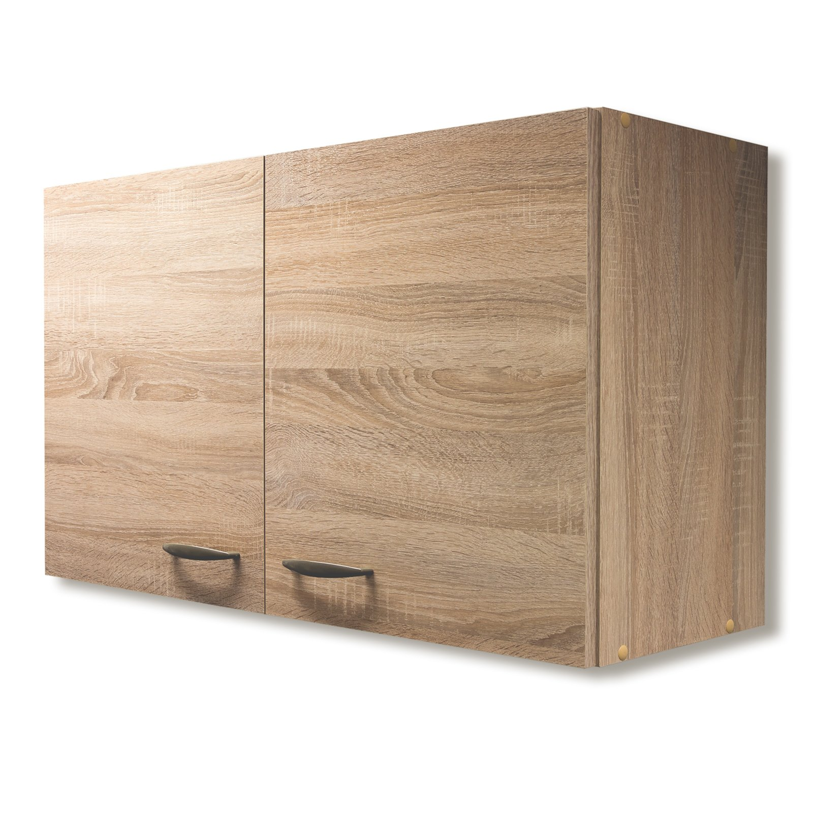 h ngeschrank oslo sonoma eiche 100 cm breit h ngeschr nke einzelschr nke. Black Bedroom Furniture Sets. Home Design Ideas