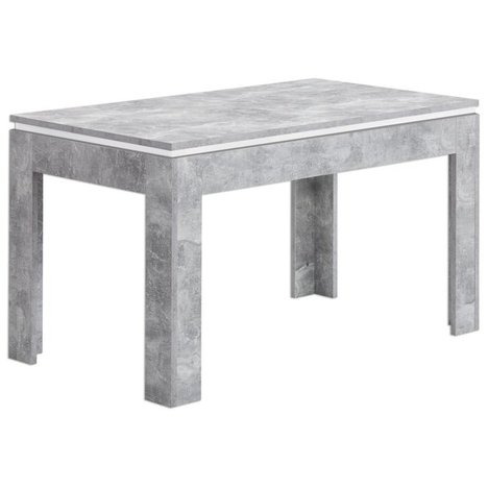 esstisch stone beton weiss ausziehbar esstische